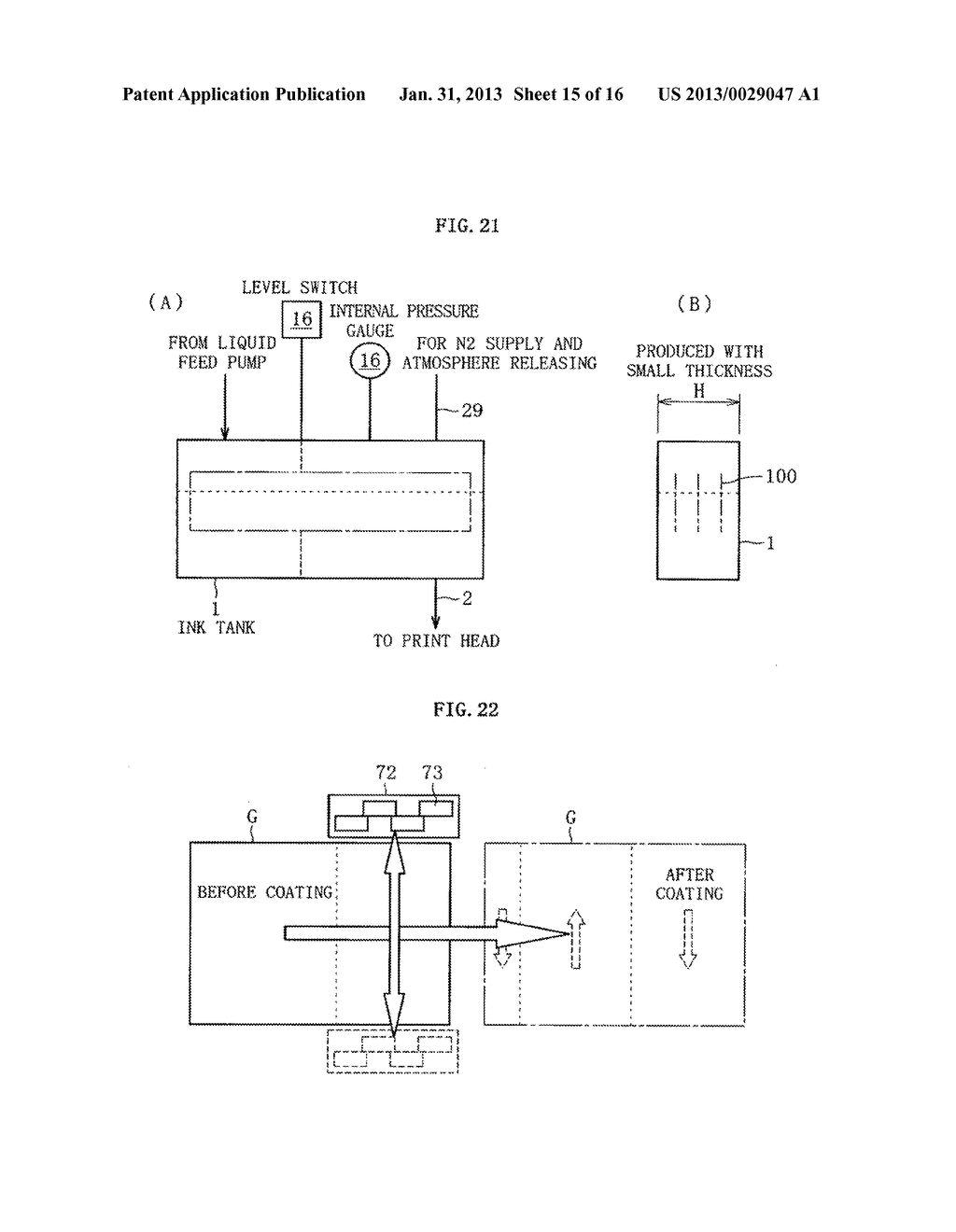 INKJET HEAD, METHOD OF DETECTING EJECTION ABNORMALITY OF THE INKJET HEAD,     AND METHOD OF FORMING FILM - diagram, schematic, and image 16