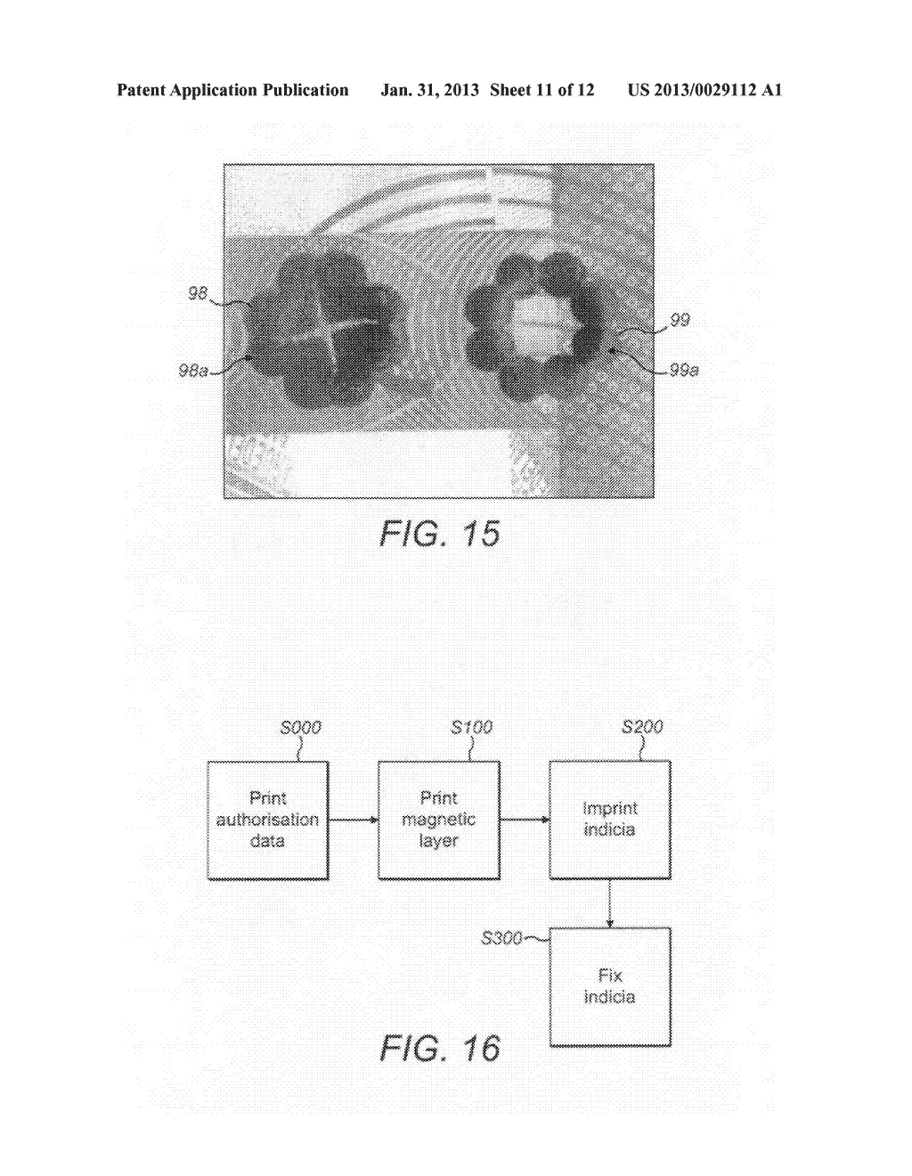 SECURITY ELEMENTS AND METHODS AND APPARATUS FOR THEIR MANUFACTURE - diagram, schematic, and image 12