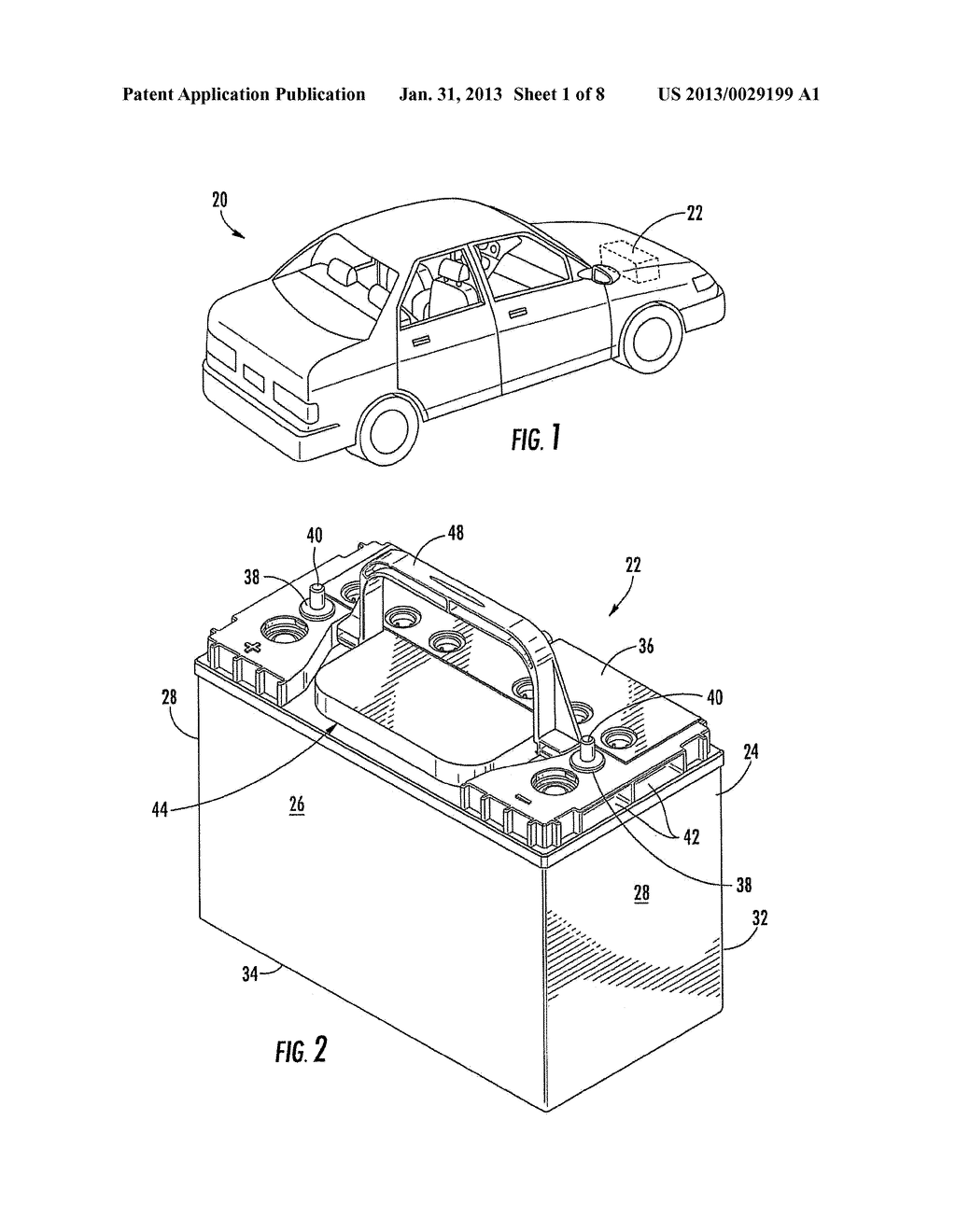 BATTERY HANDLE AND COVER WITH PIVOT CAM FEATURE, AND METHOD OF ASSEMBLY - diagram, schematic, and image 02