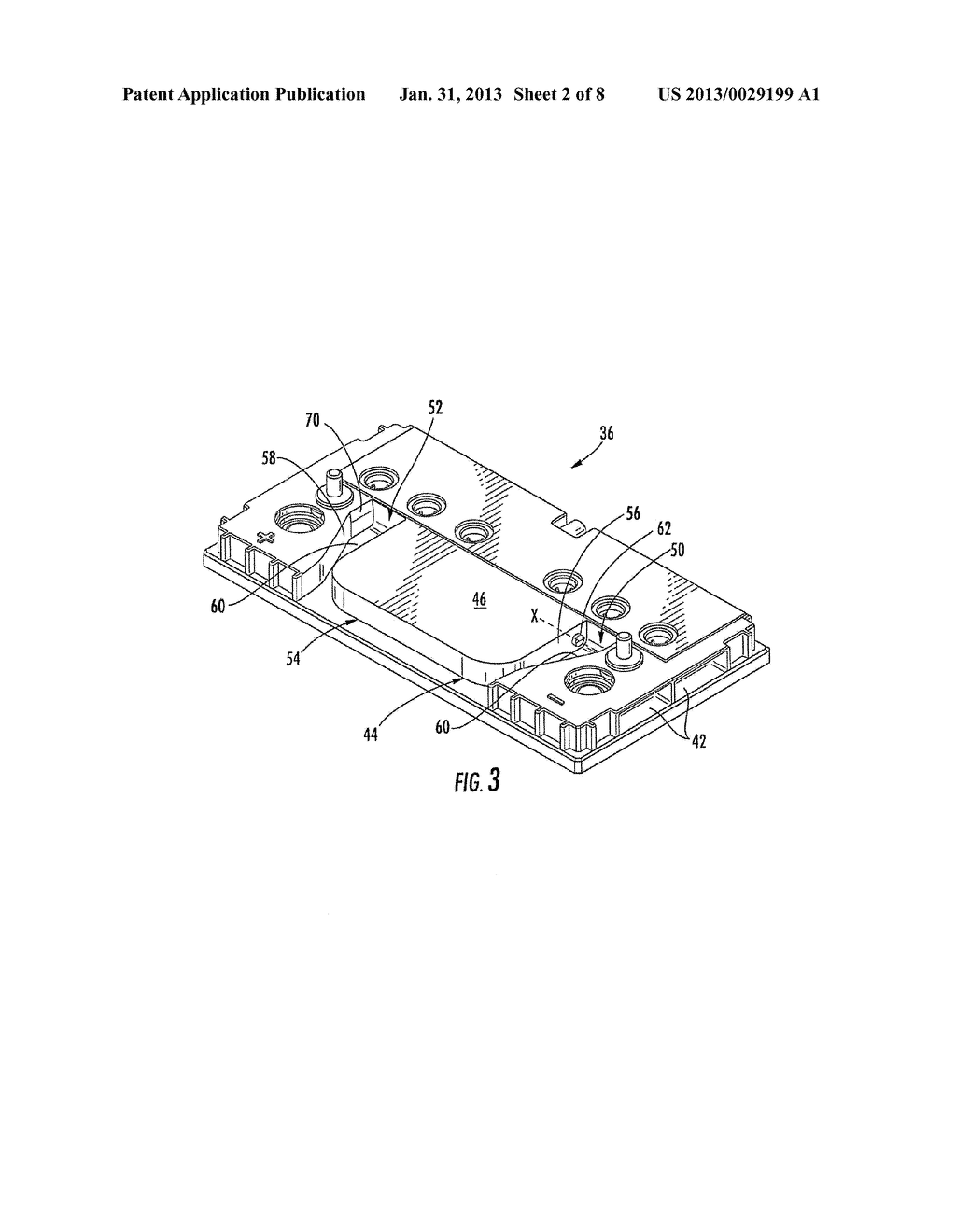 BATTERY HANDLE AND COVER WITH PIVOT CAM FEATURE, AND METHOD OF ASSEMBLY - diagram, schematic, and image 03