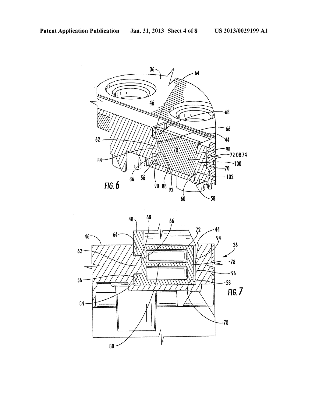 BATTERY HANDLE AND COVER WITH PIVOT CAM FEATURE, AND METHOD OF ASSEMBLY - diagram, schematic, and image 05