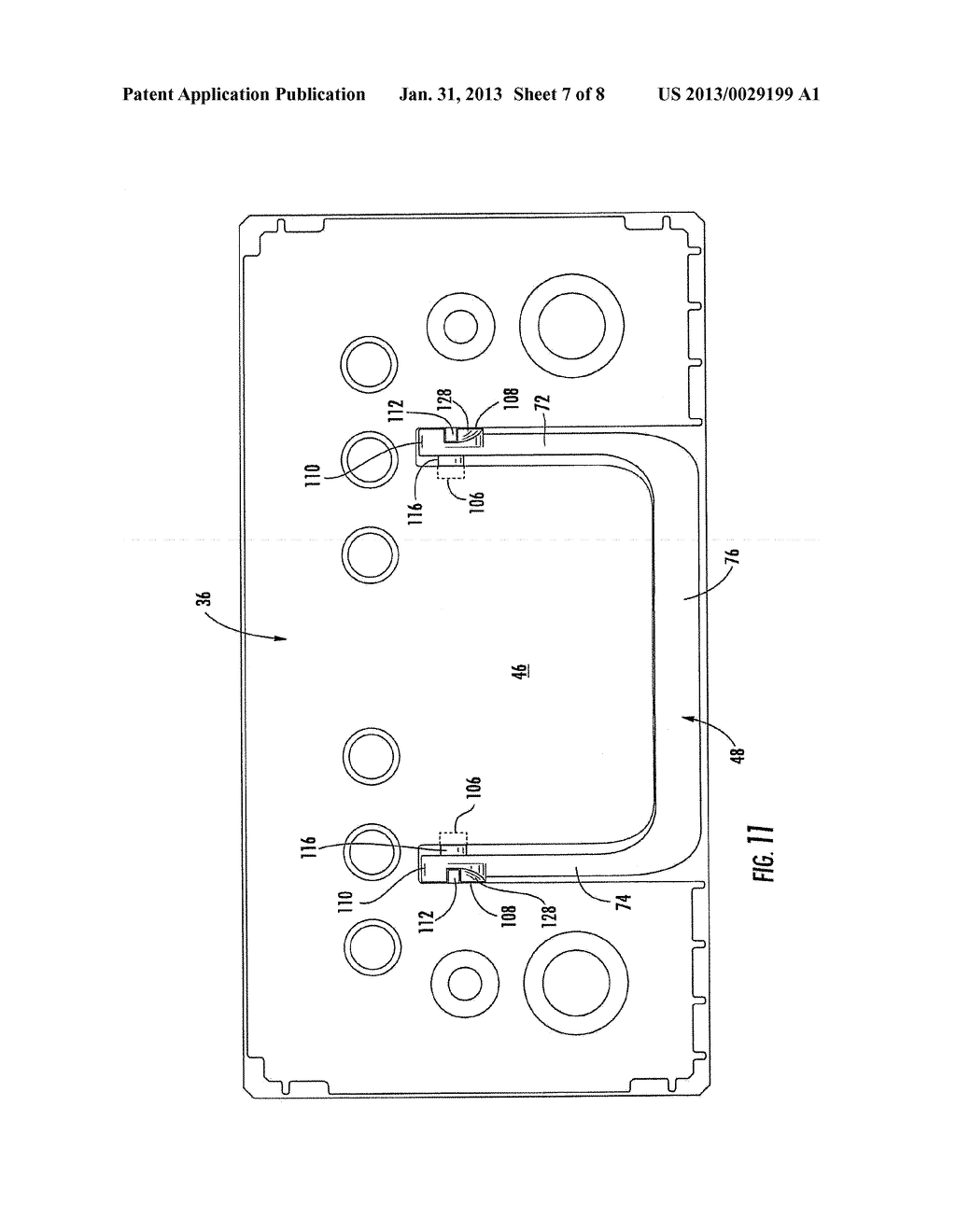 BATTERY HANDLE AND COVER WITH PIVOT CAM FEATURE, AND METHOD OF ASSEMBLY - diagram, schematic, and image 08