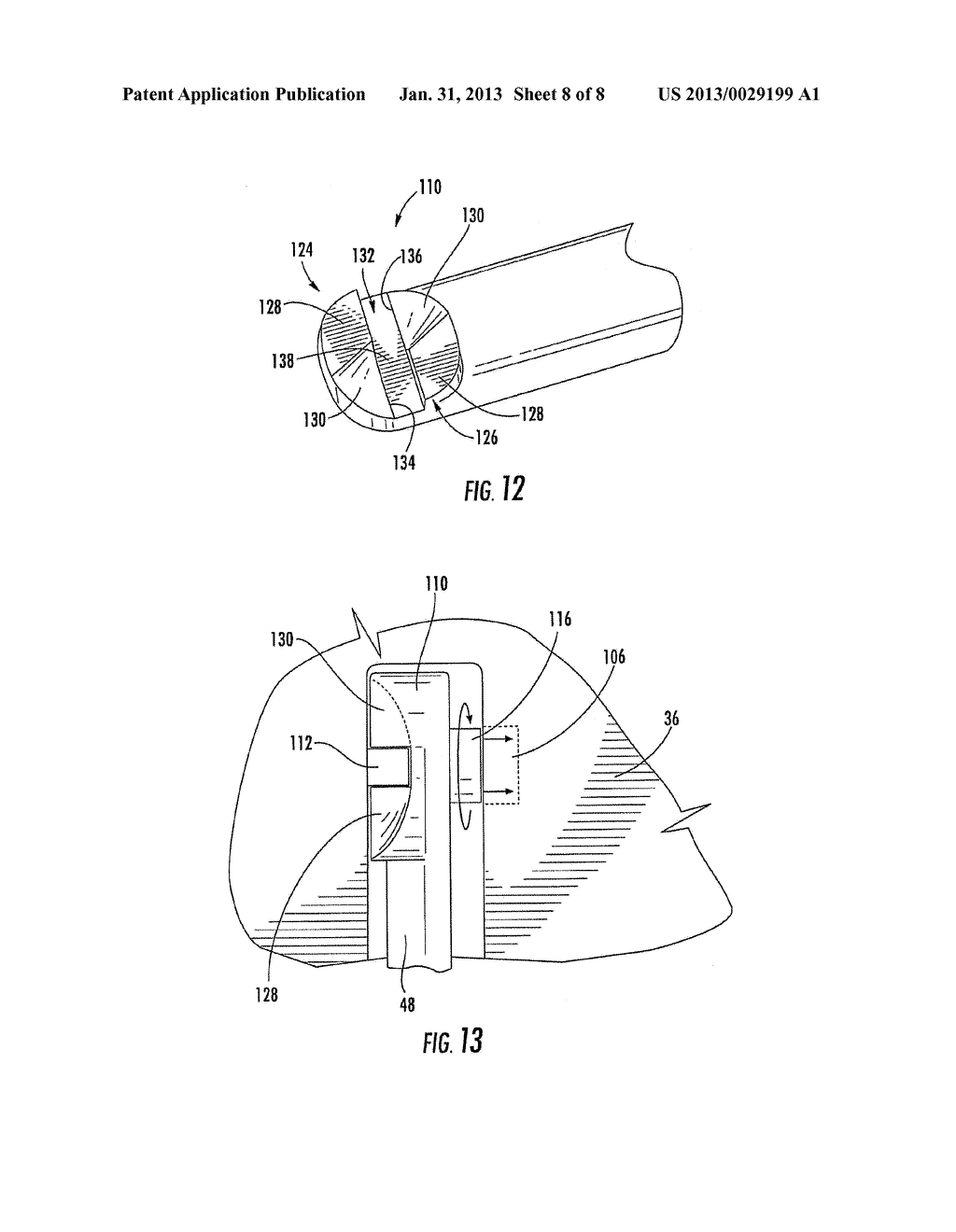 BATTERY HANDLE AND COVER WITH PIVOT CAM FEATURE, AND METHOD OF ASSEMBLY - diagram, schematic, and image 09