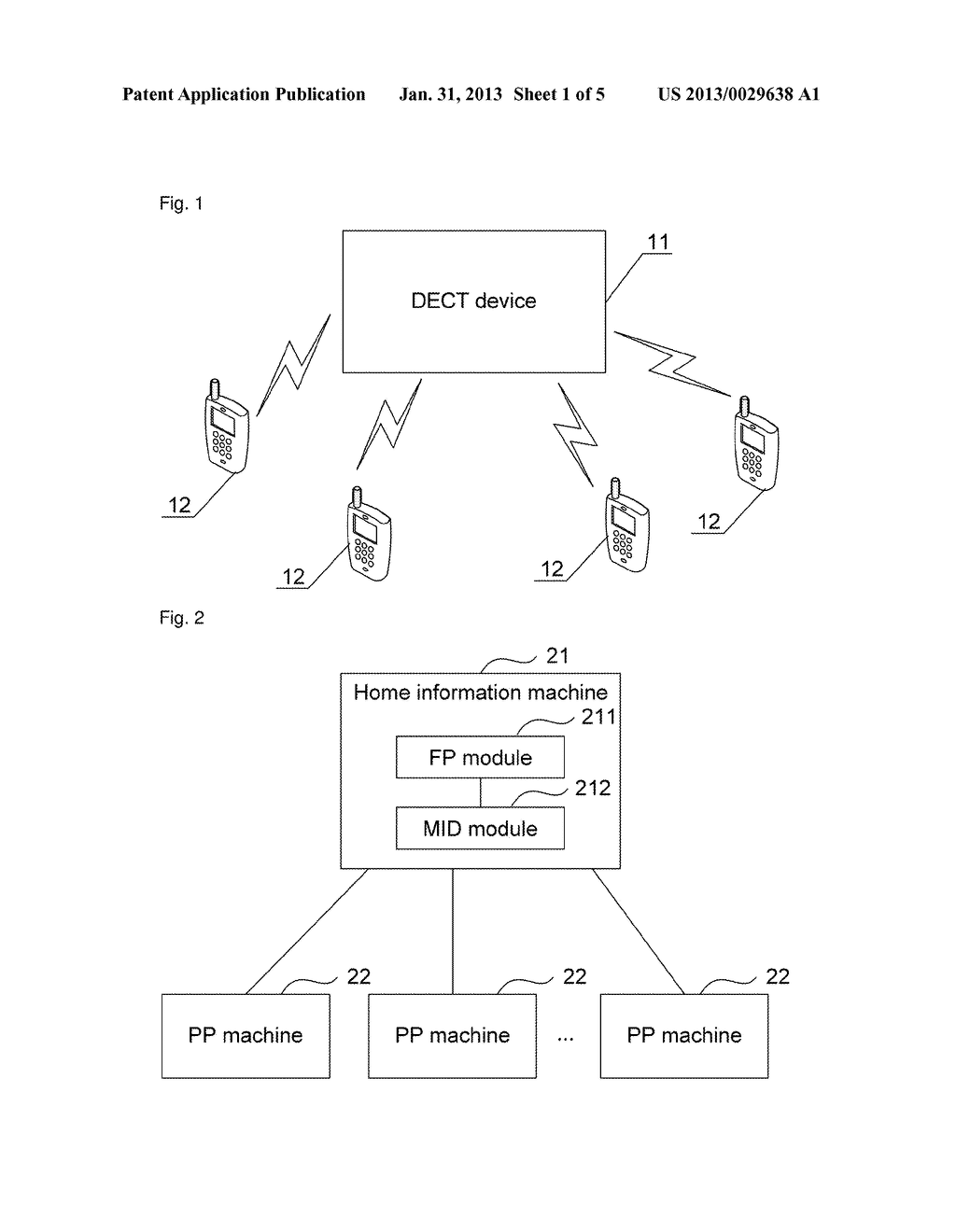 Registration or unregistration method for home information machine and     home information machine hereof - diagram, schematic, and image 02