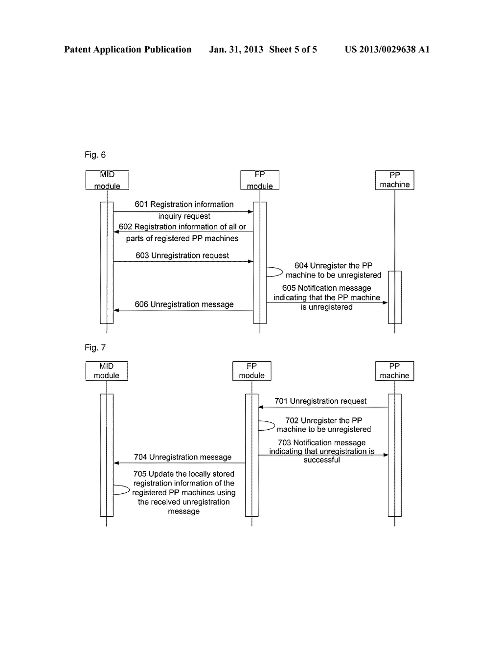 Registration or unregistration method for home information machine and     home information machine hereof - diagram, schematic, and image 06