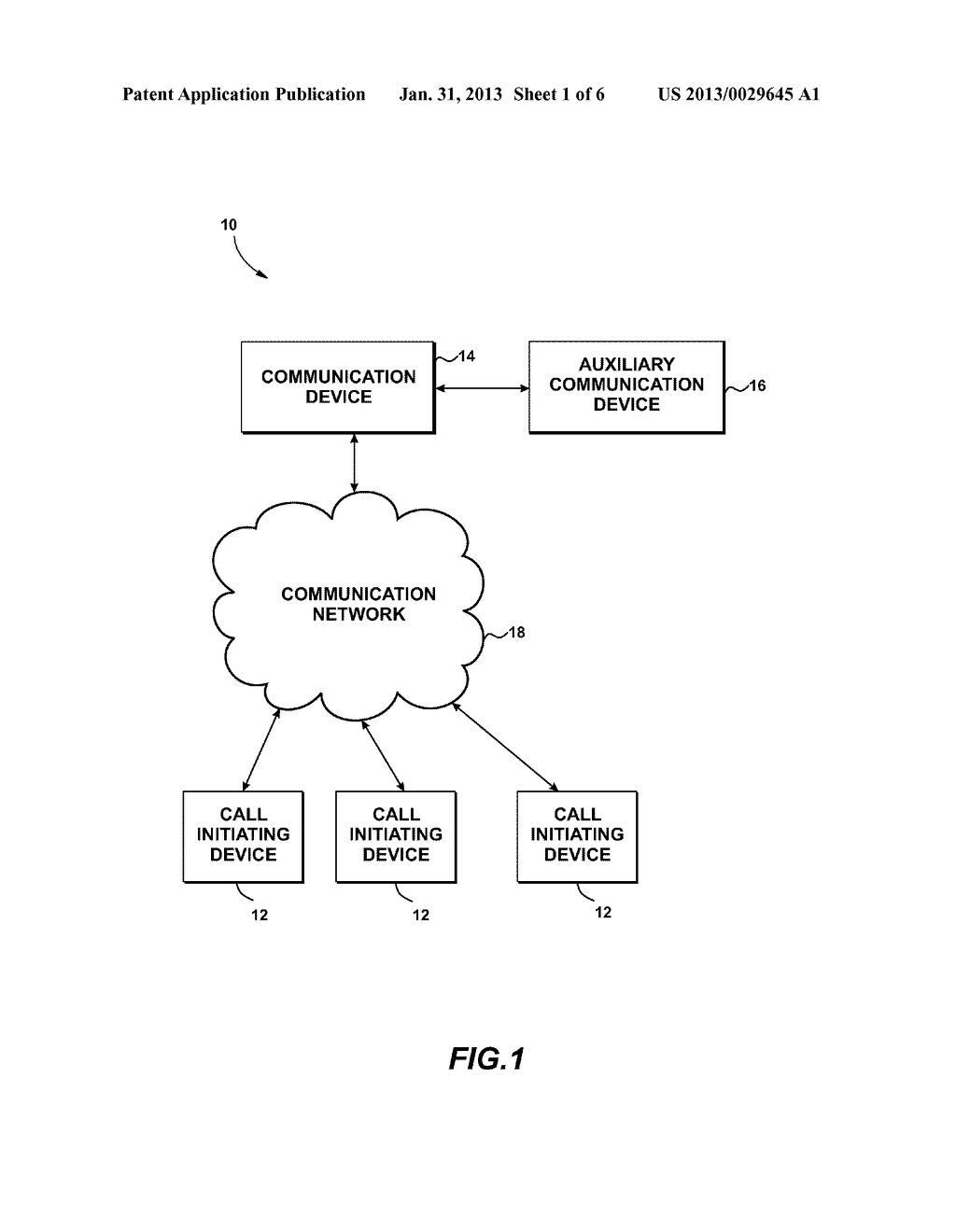 CALL SWITCHING SYSTEM AND METHOD FOR COMMUNICATION DEVICES - diagram, schematic, and image 02