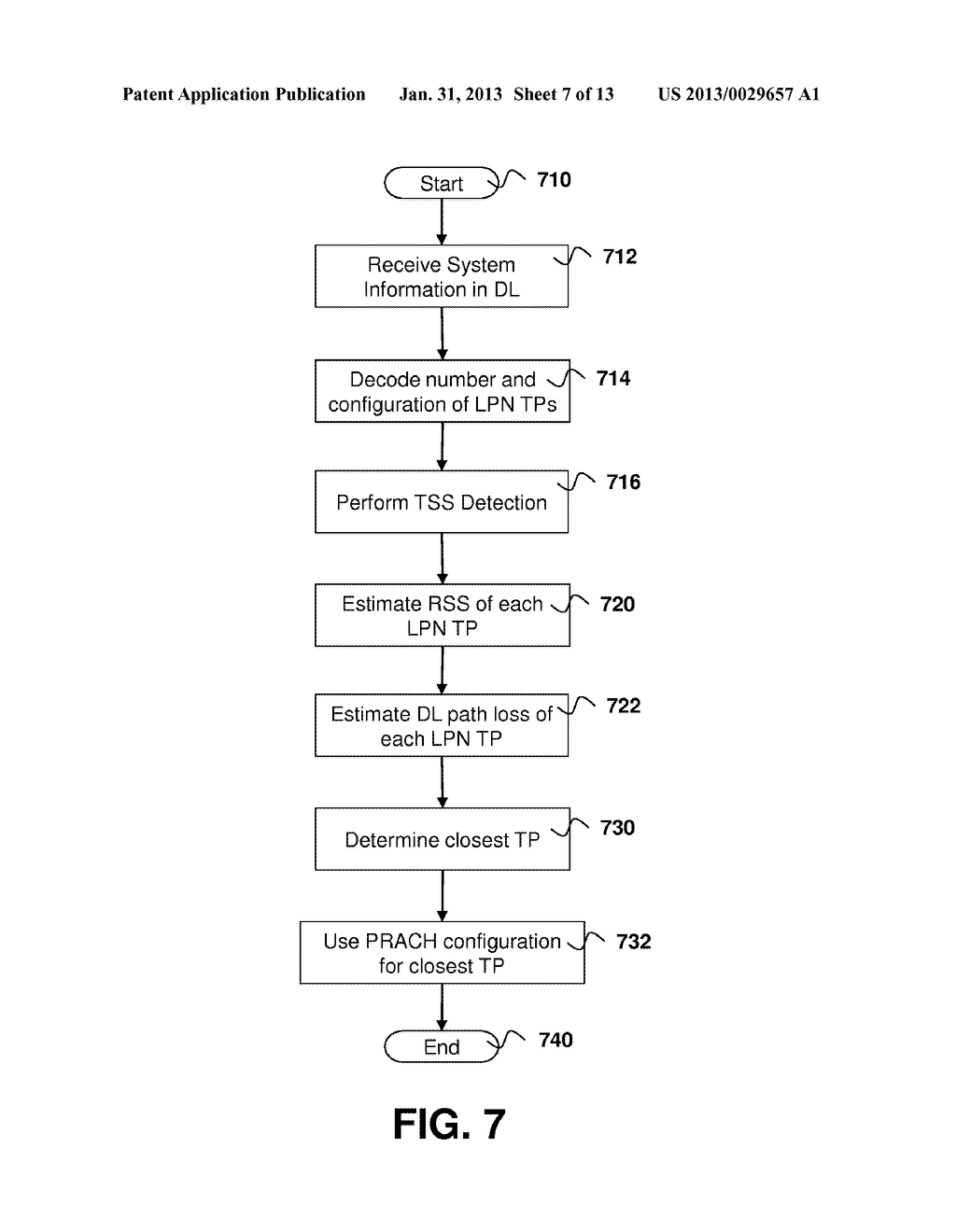 Method and System for Access and Uplink Power Control for a Wireless     System Having Multiple Transmit Points - diagram, schematic, and image 08