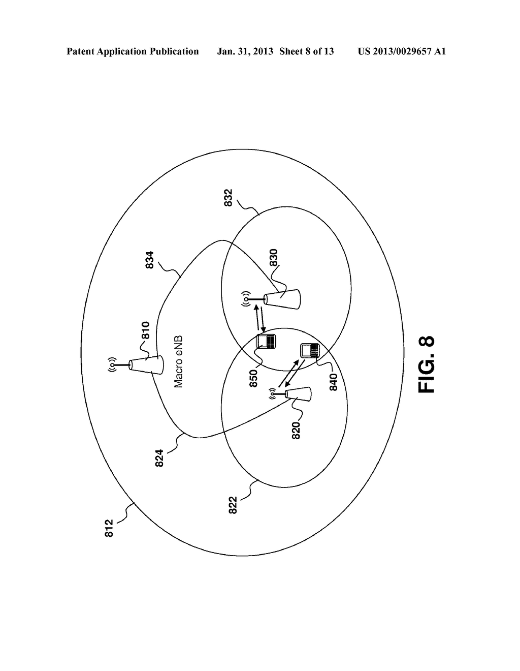 Method and System for Access and Uplink Power Control for a Wireless     System Having Multiple Transmit Points - diagram, schematic, and image 09
