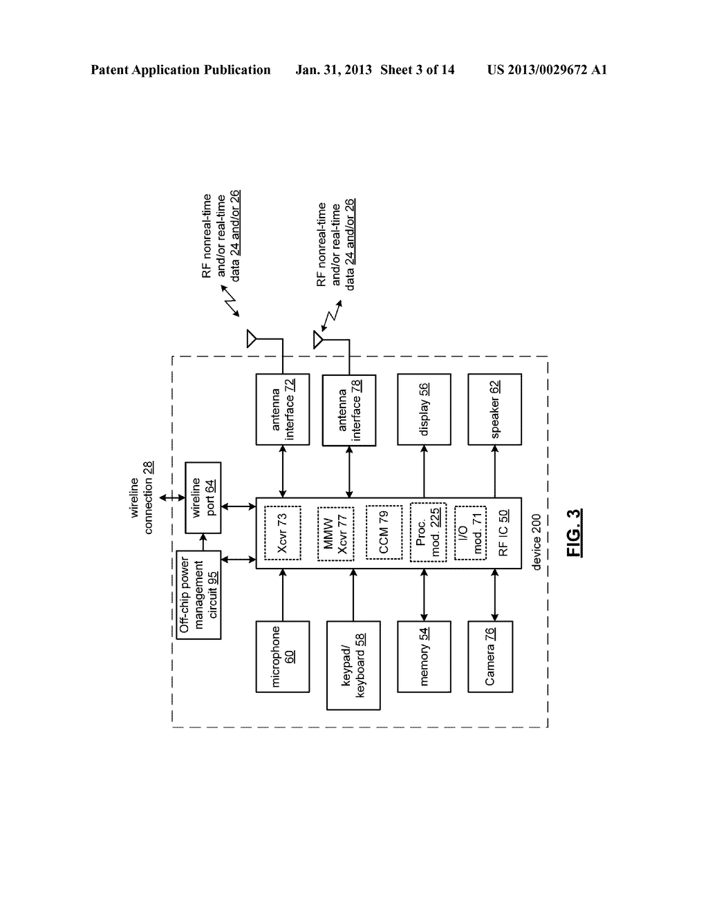 MULTIBAND COMMUNICATION DEVICE FOR USE WITH A MESH NETWORK AND METHODS FOR     USE THEREWITH - diagram, schematic, and image 04