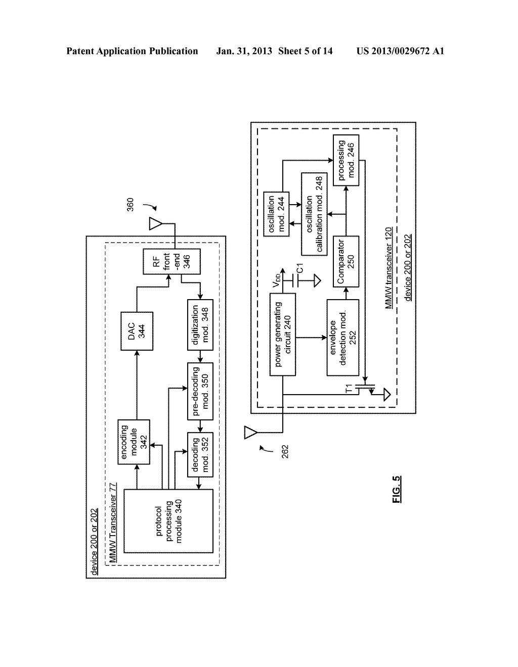 MULTIBAND COMMUNICATION DEVICE FOR USE WITH A MESH NETWORK AND METHODS FOR     USE THEREWITH - diagram, schematic, and image 06