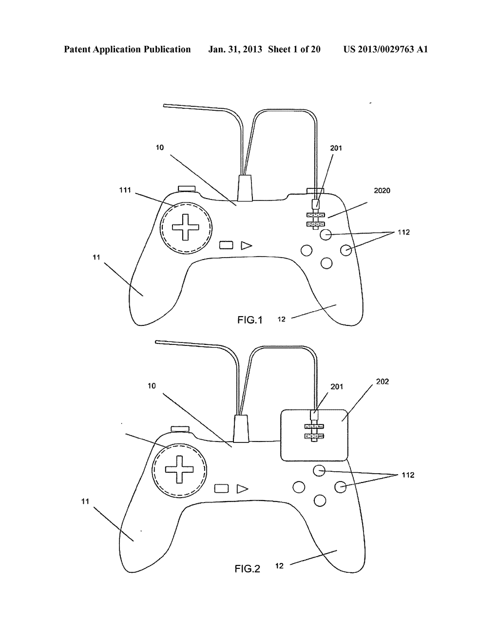 Game controller - diagram, schematic, and image 02