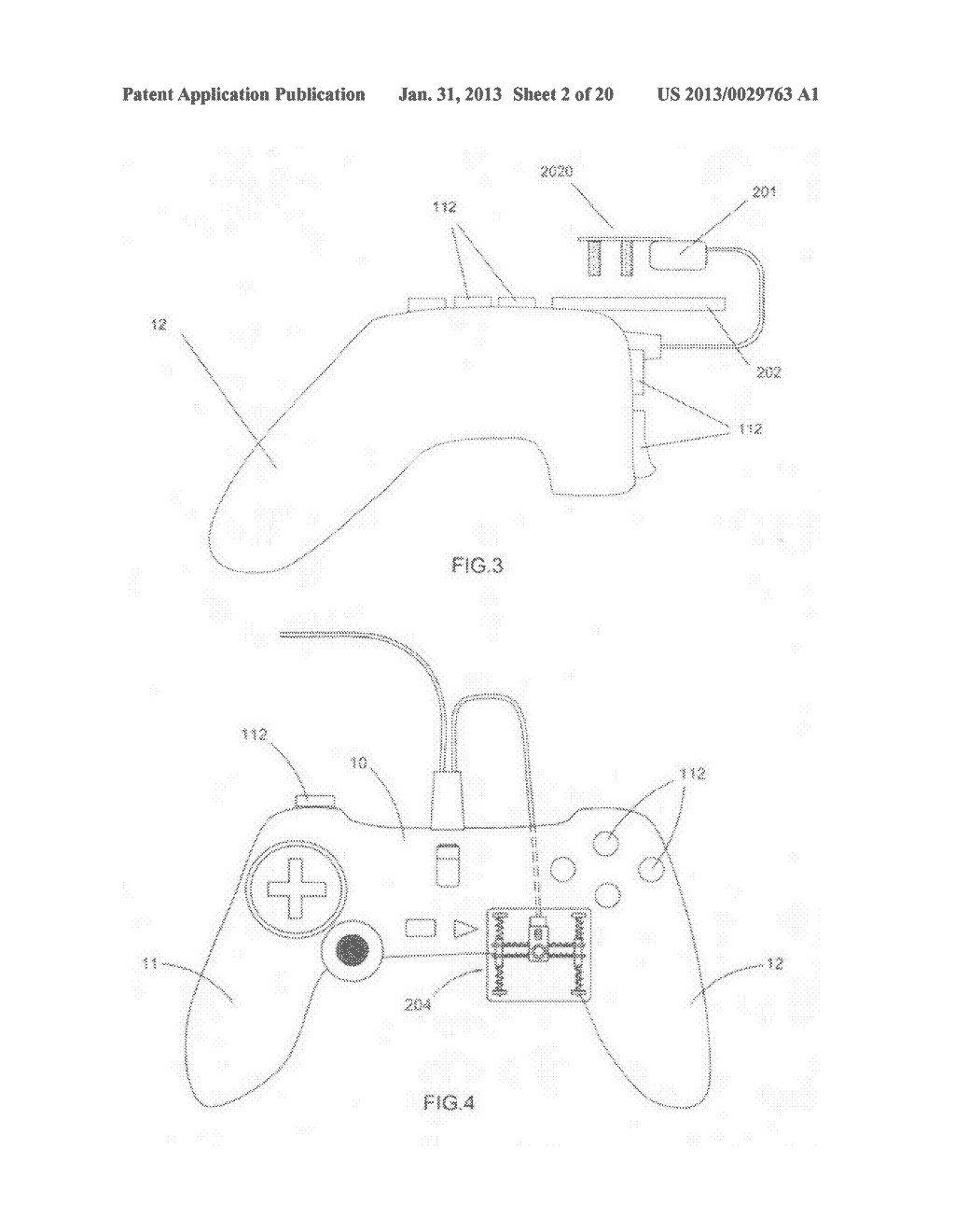 Game controller - diagram, schematic, and image 03