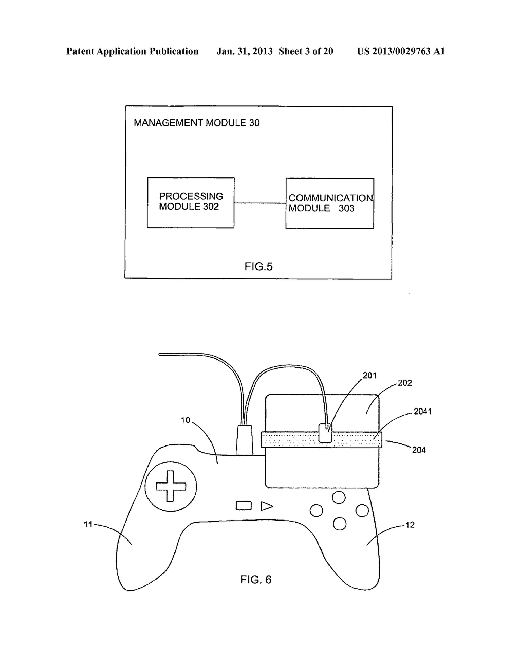 Game controller - diagram, schematic, and image 04