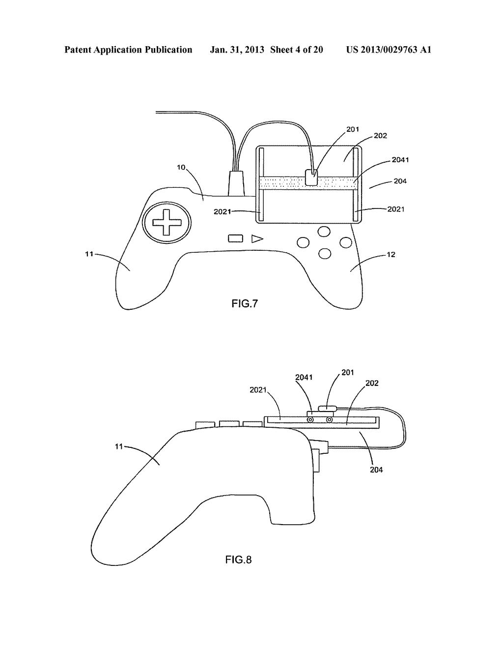 Game controller - diagram, schematic, and image 05