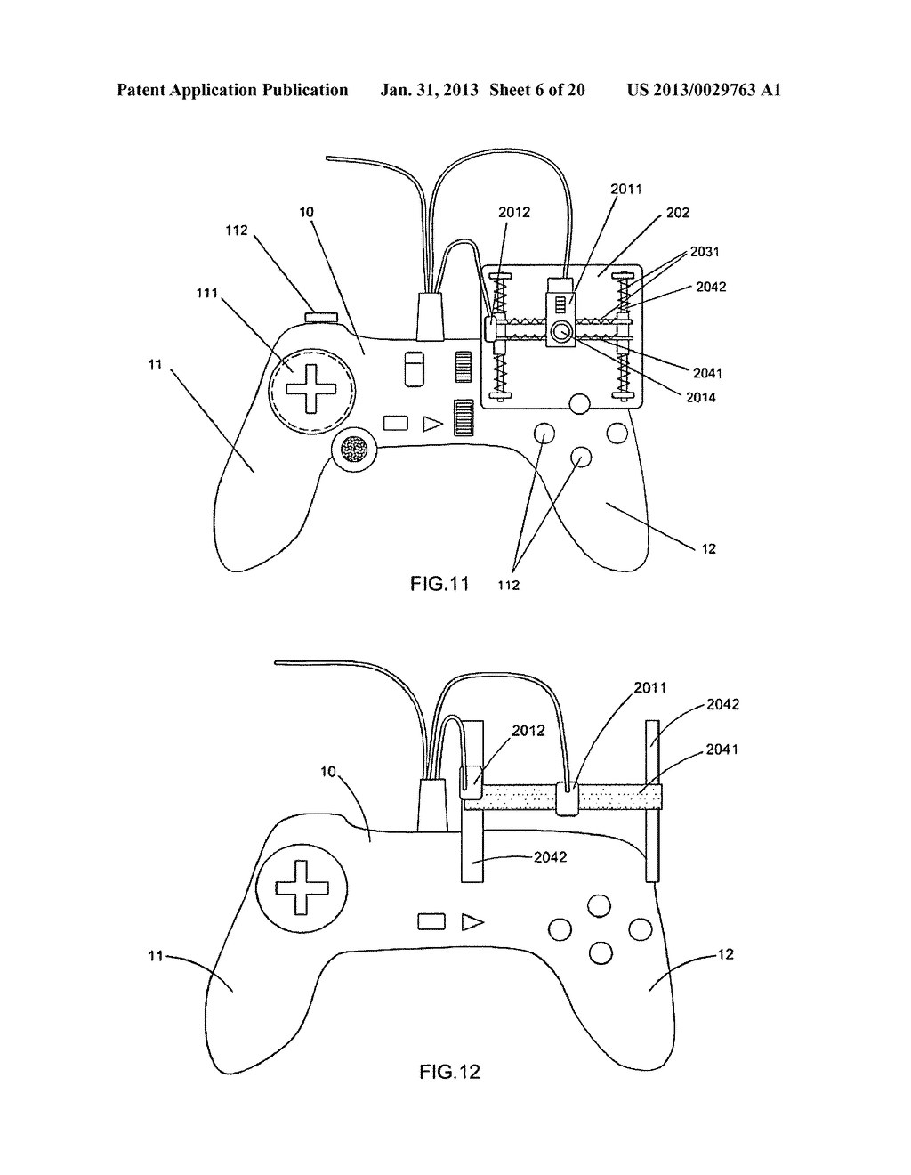Game controller - diagram, schematic, and image 07