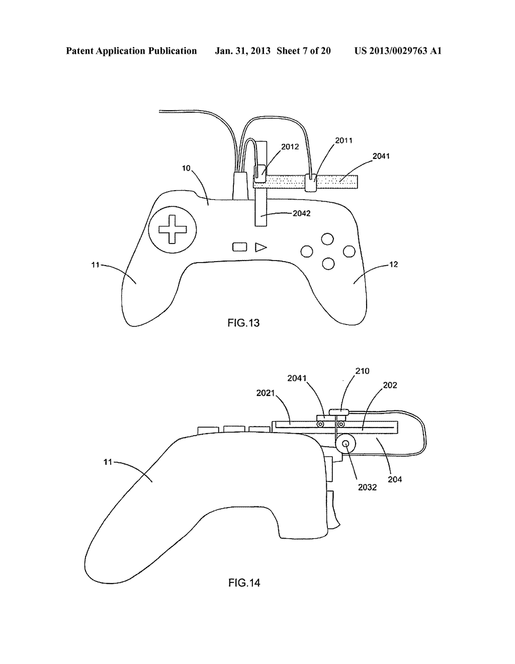 Game controller - diagram, schematic, and image 08