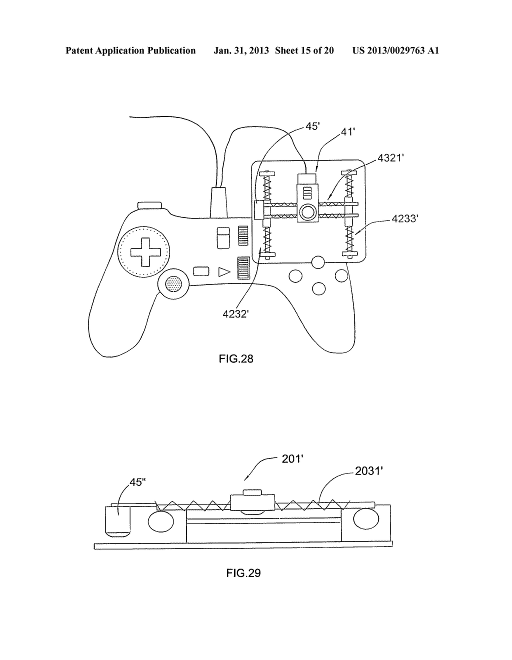 Game controller - diagram, schematic, and image 16