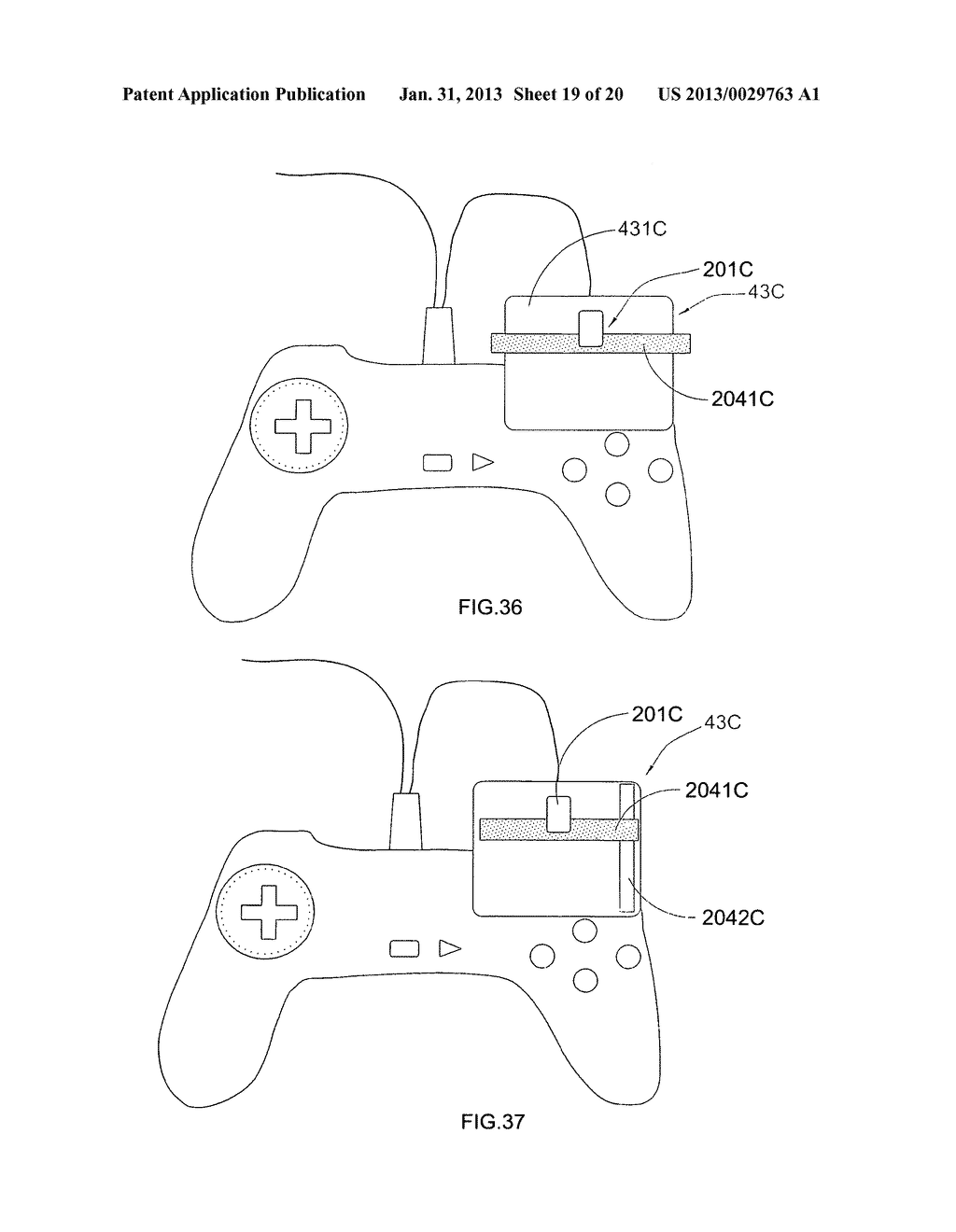 Game controller - diagram, schematic, and image 20
