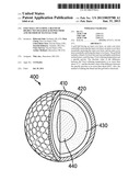 Golf Ball Including a Blend Of Highly Neutralized Acid Polymers And Method     of Manufacture diagram and image