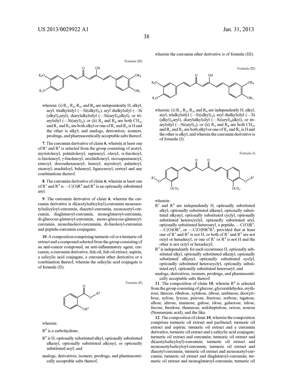 FORMULATIONS FROM NATURAL PRODUCTS, TURMERIC, PACLITAXEL, AND ASPIRIN - diagram, schematic, and image 92