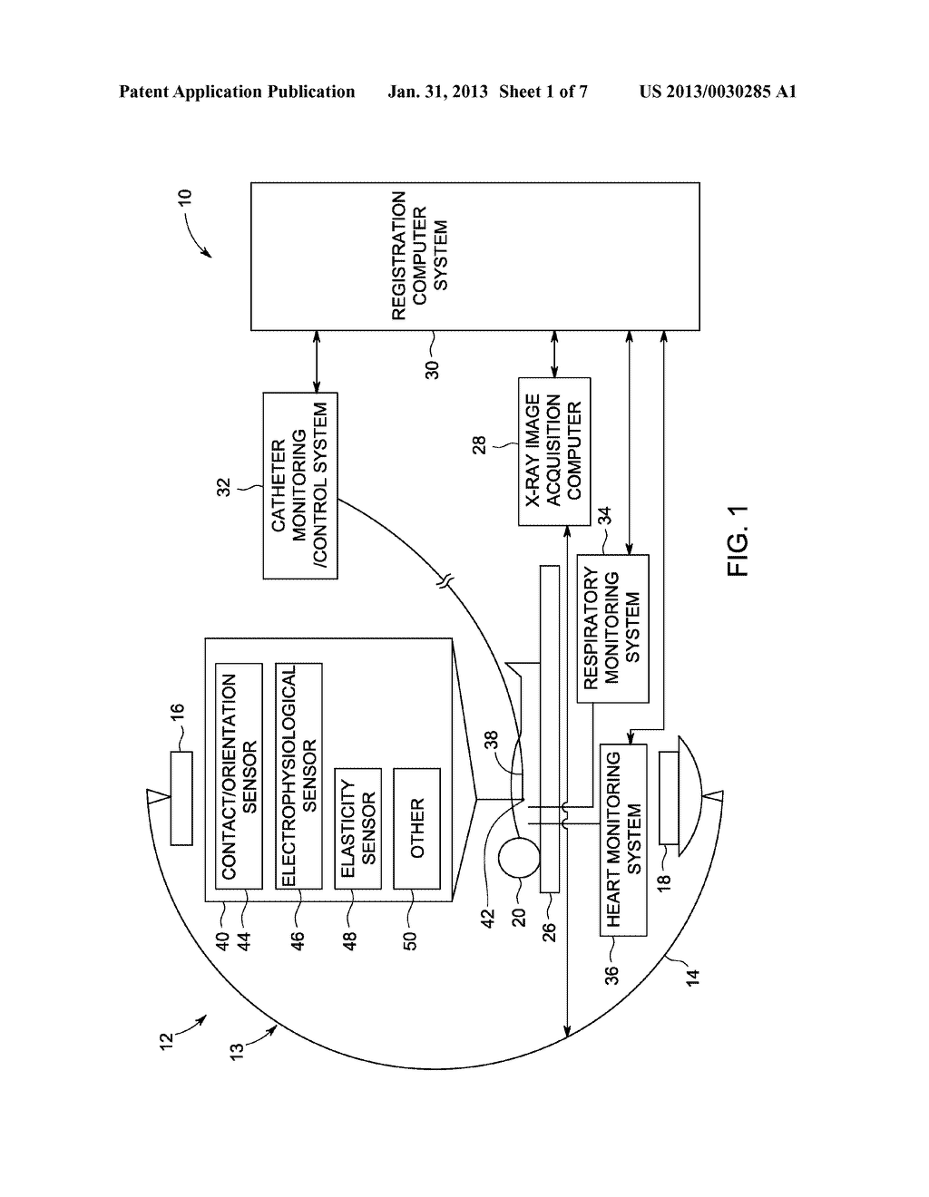 SYSTEM AND METHOD FOR INTEGRATING MULTIPLE DATA SOURCES INTO AN X-RAY     IMAGE REFERENTIAL - diagram, schematic, and image 02