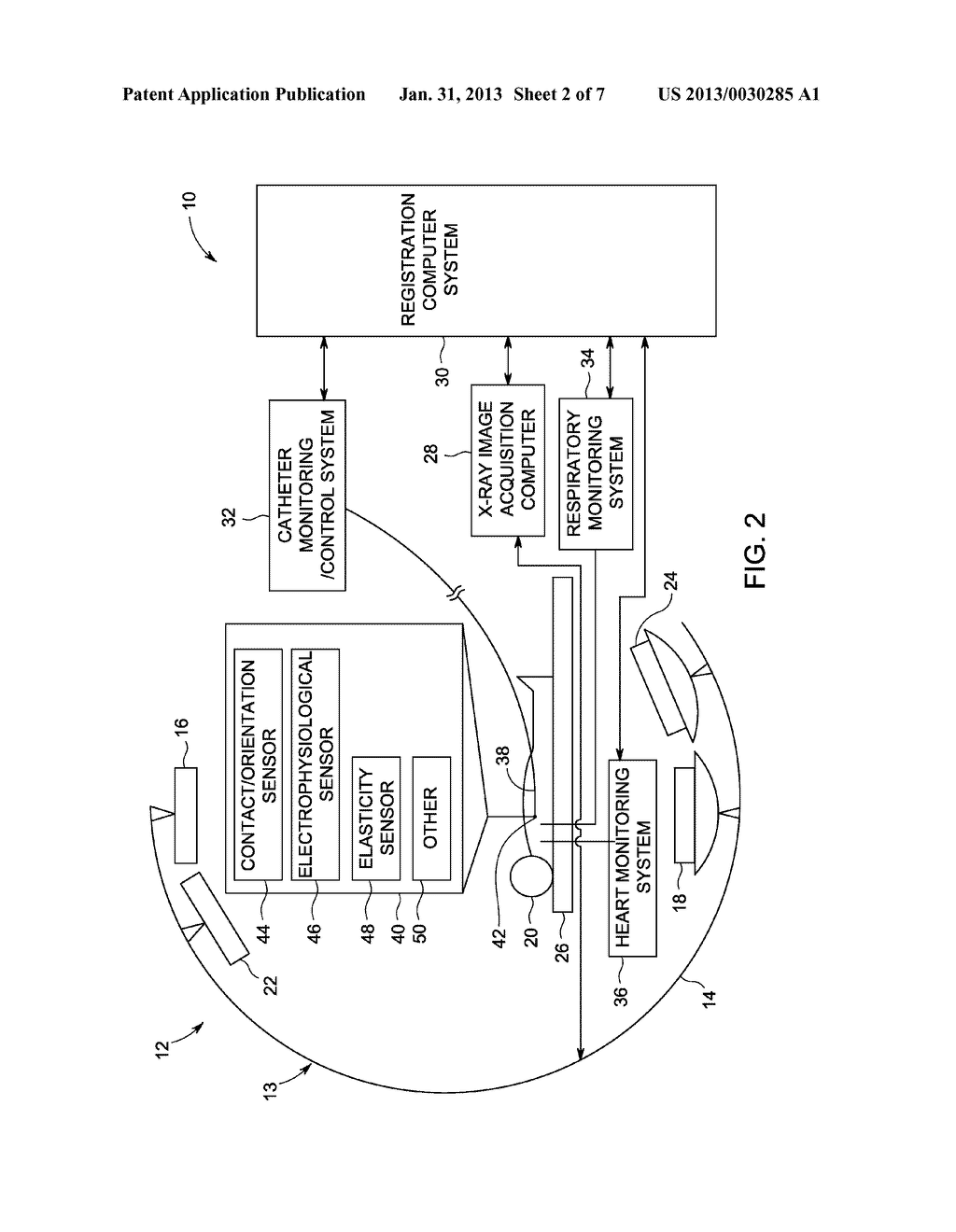 SYSTEM AND METHOD FOR INTEGRATING MULTIPLE DATA SOURCES INTO AN X-RAY     IMAGE REFERENTIAL - diagram, schematic, and image 03