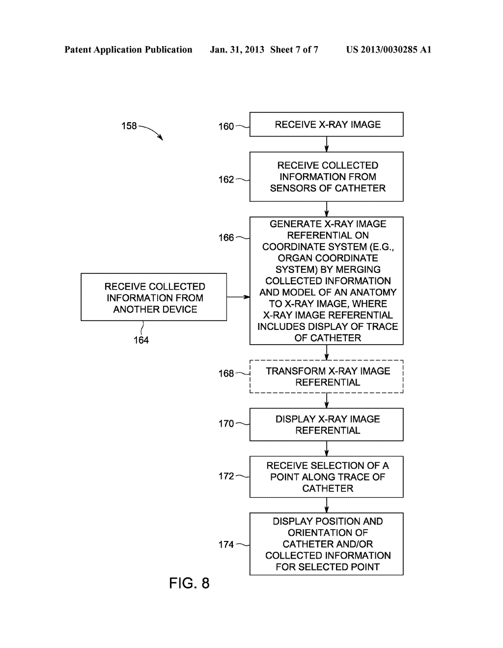 SYSTEM AND METHOD FOR INTEGRATING MULTIPLE DATA SOURCES INTO AN X-RAY     IMAGE REFERENTIAL - diagram, schematic, and image 08