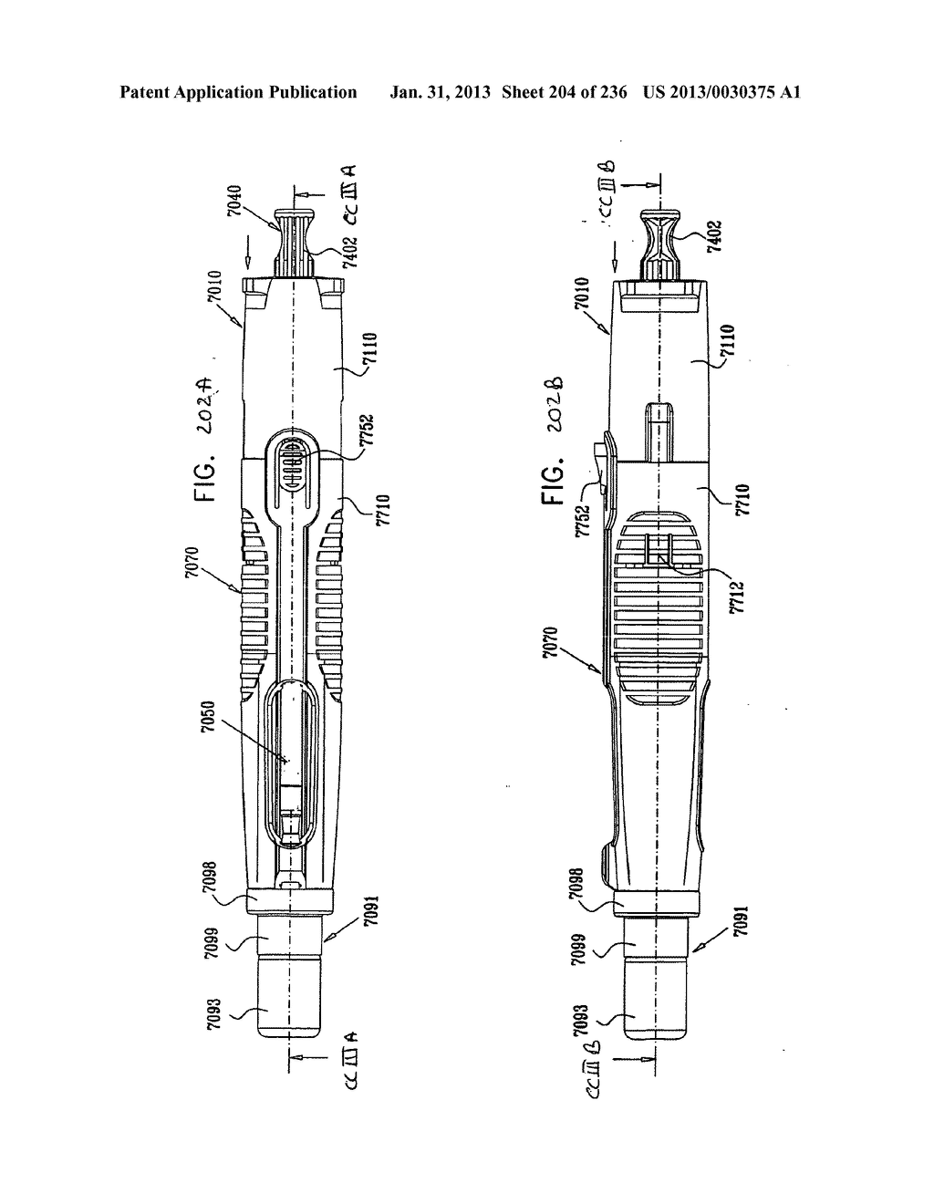 AUTOMATIC INJECTION DEVICE - diagram, schematic, and image 205