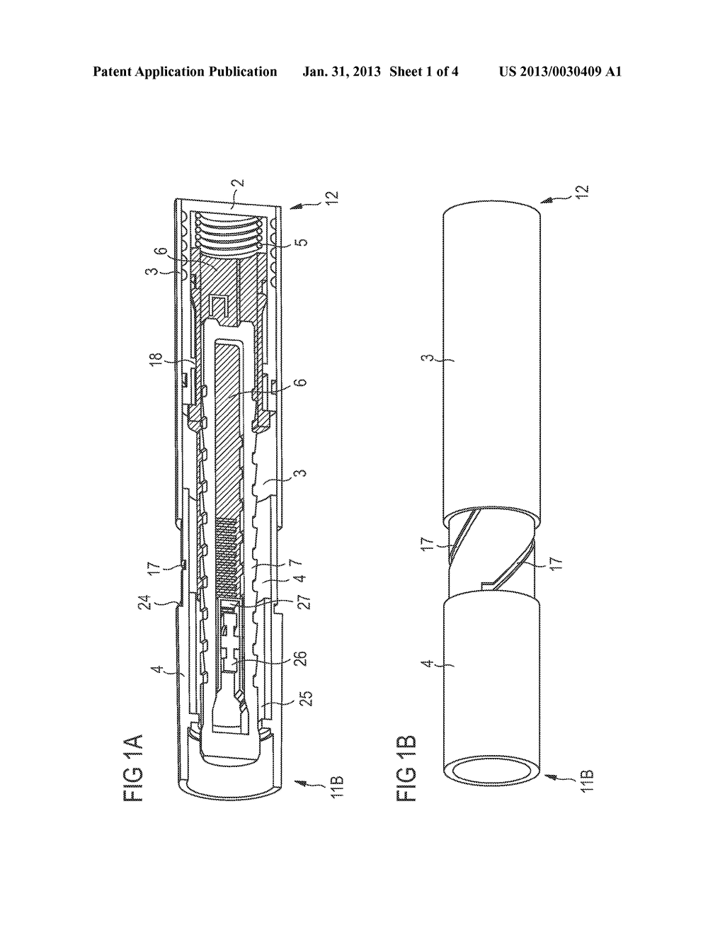 DRUG DELIVERY DEVICE, ASSEMBLY FOR A DRUG DELIVERY DEVICE AND METHOD FOR     SETTING UP A DRUG DELIVERY DEVICE - diagram, schematic, and image 02