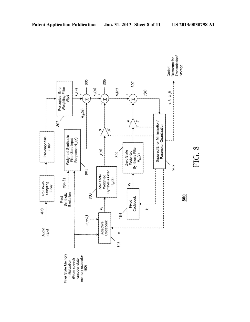 METHOD AND APPARATUS FOR AUDIO CODING AND DECODING - diagram, schematic, and image 09