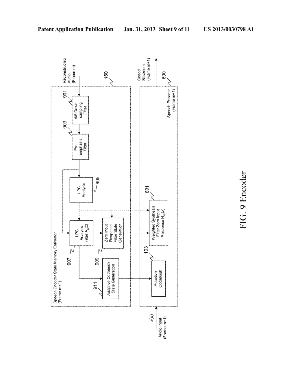 METHOD AND APPARATUS FOR AUDIO CODING AND DECODING - diagram, schematic, and image 10