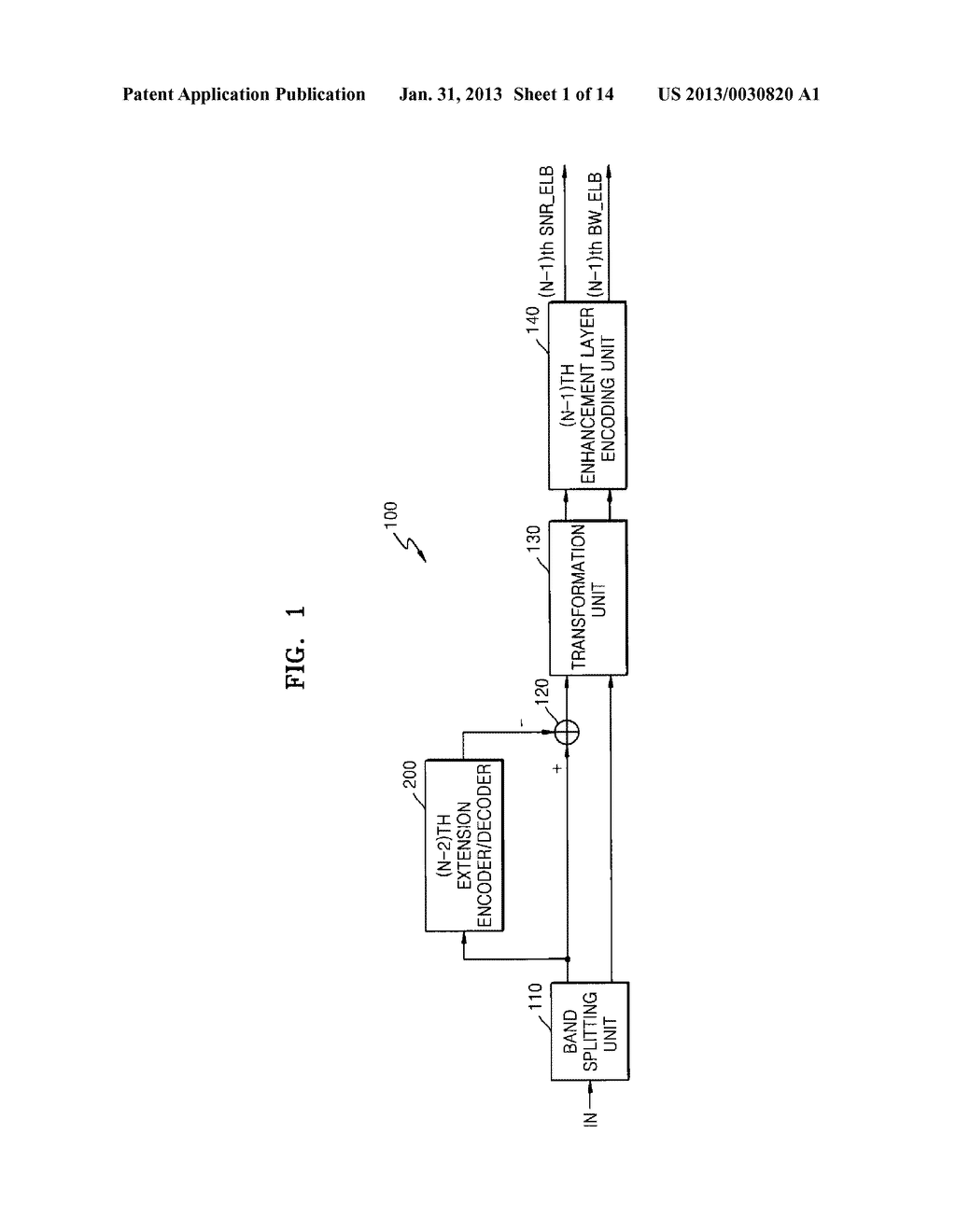 METHOD, MEDIUM, AND SYSTEM SCALABLY ENCODING/DECODING AUDIO/SPEECH - diagram, schematic, and image 02