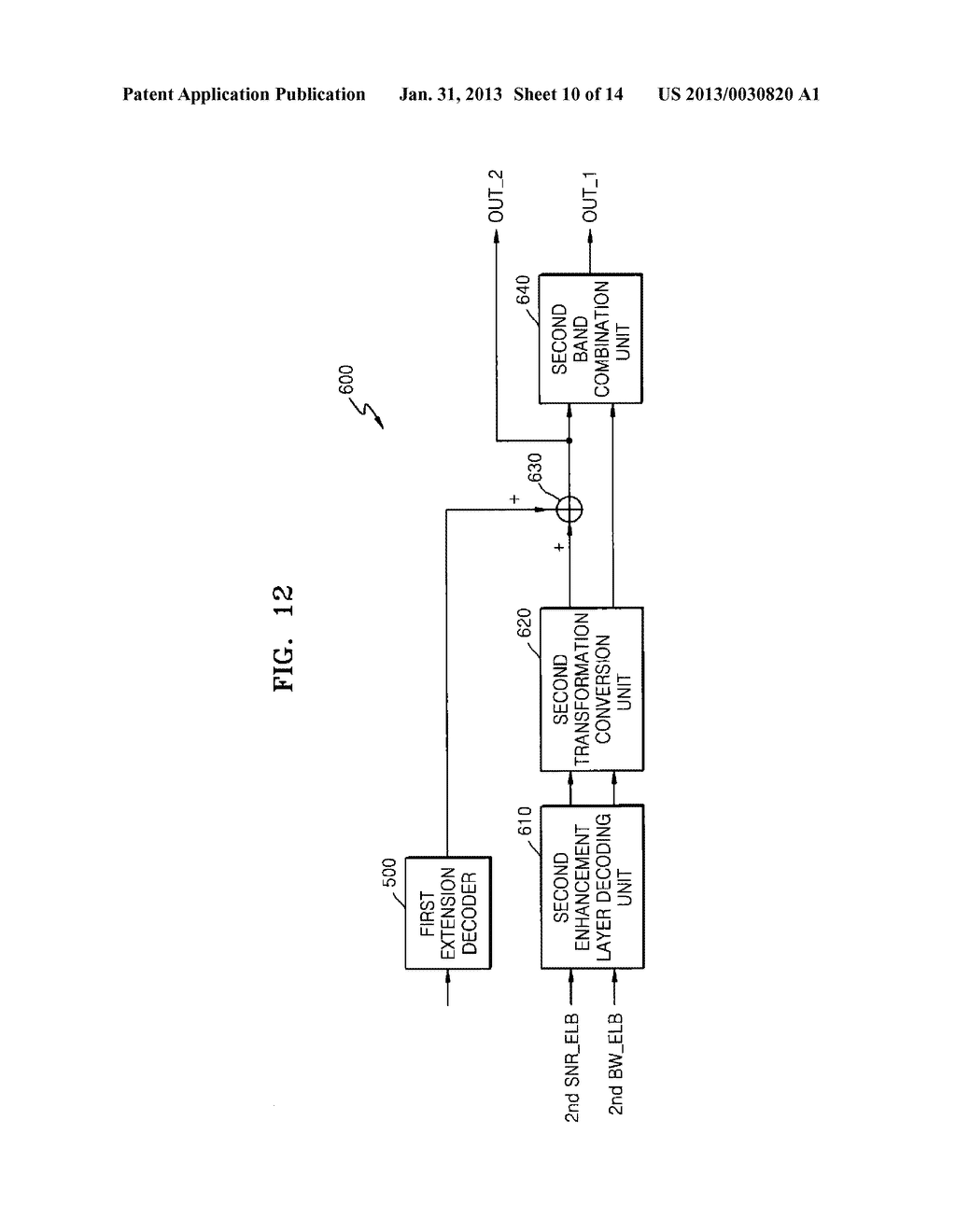 METHOD, MEDIUM, AND SYSTEM SCALABLY ENCODING/DECODING AUDIO/SPEECH - diagram, schematic, and image 11