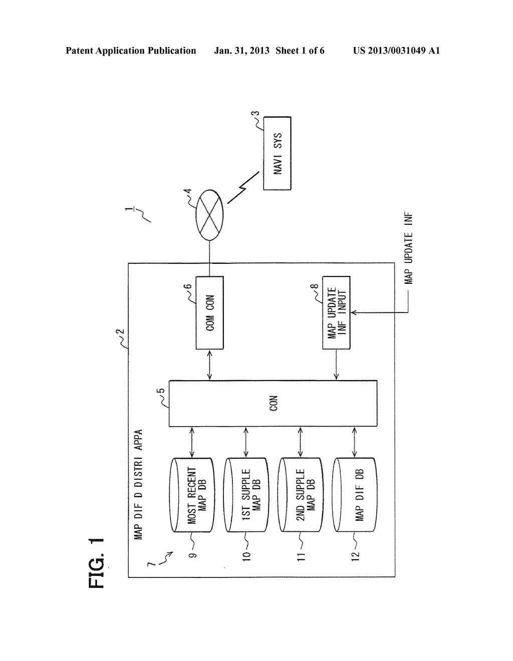 MAP DIFFERENCE DATA GENERATION APPARATUS AND MAP DIFFERENCE DATA     GENERATION METHOD - diagram, schematic, and image 02