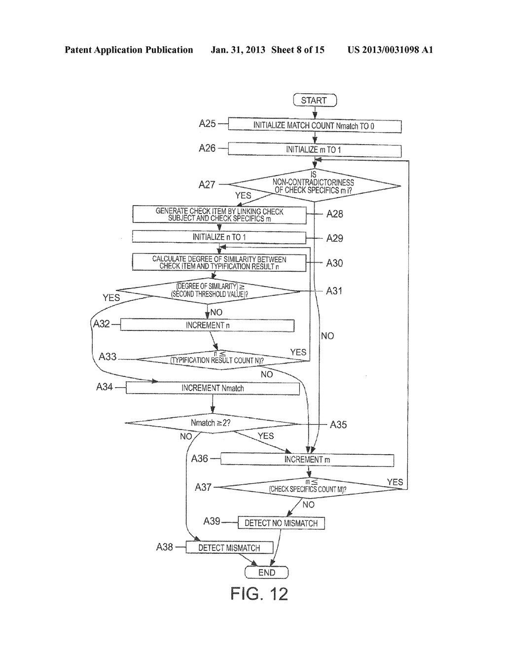 MISMATCH DETECTION SYSTEM, METHOD, AND PROGRAM - diagram, schematic, and image 09