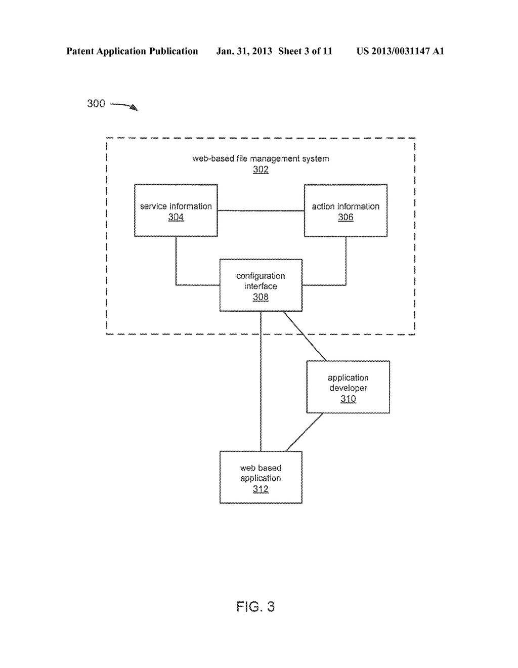 FILE MANAGEMENT SYSTEM AND COLLABORATION SERVICE AND INTEGRATION     CAPABILITIES WITH THIRD PARTY APPLICATIONS - diagram, schematic, and image 04