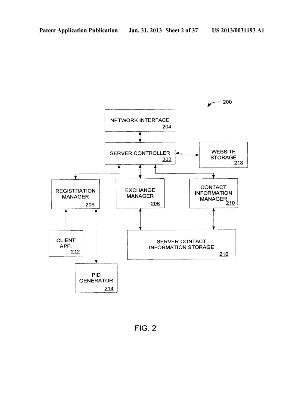 Method and System for Controlled Distribution of Information Over a     Network - diagram, schematic, and image 03