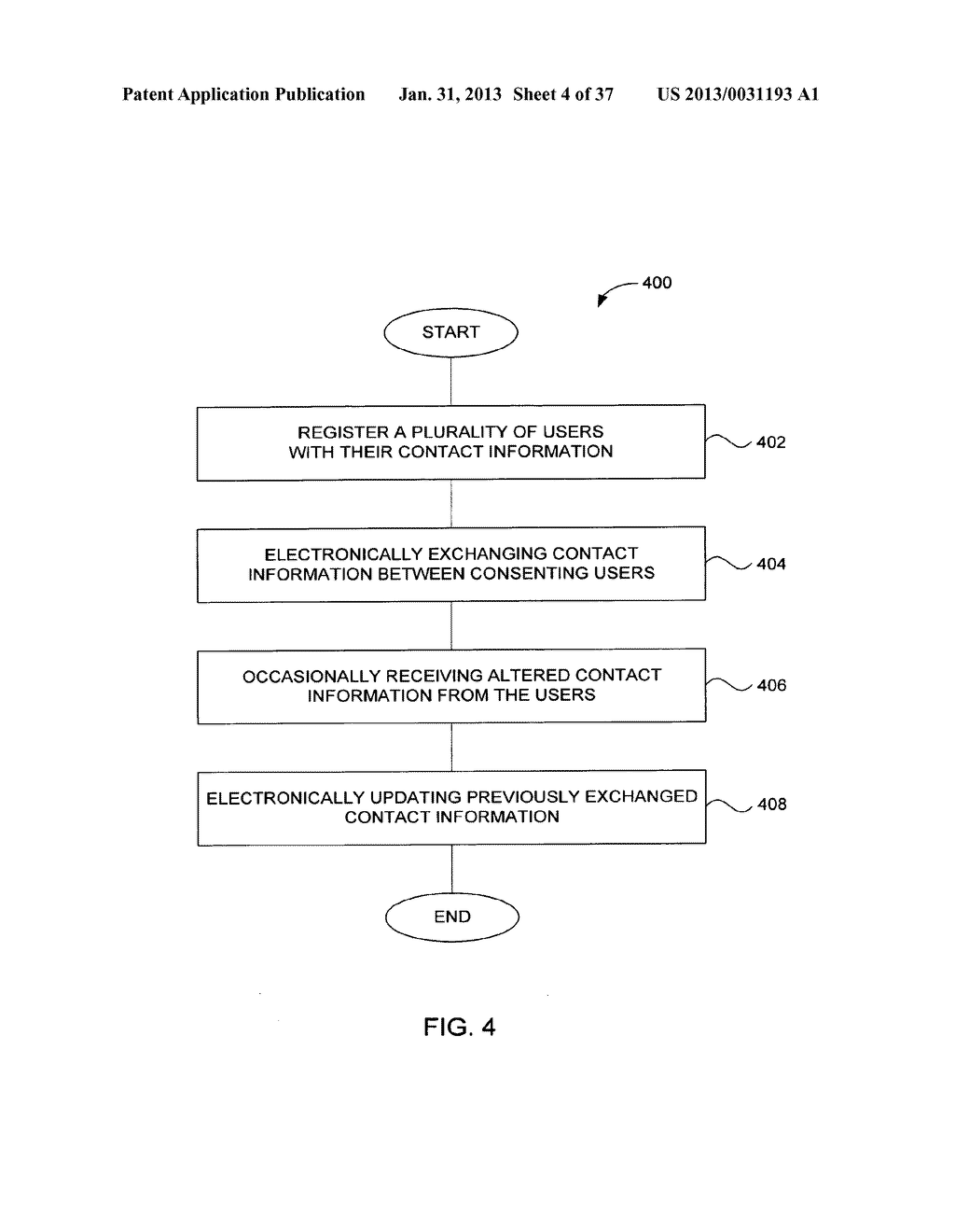 Method and System for Controlled Distribution of Information Over a     Network - diagram, schematic, and image 05