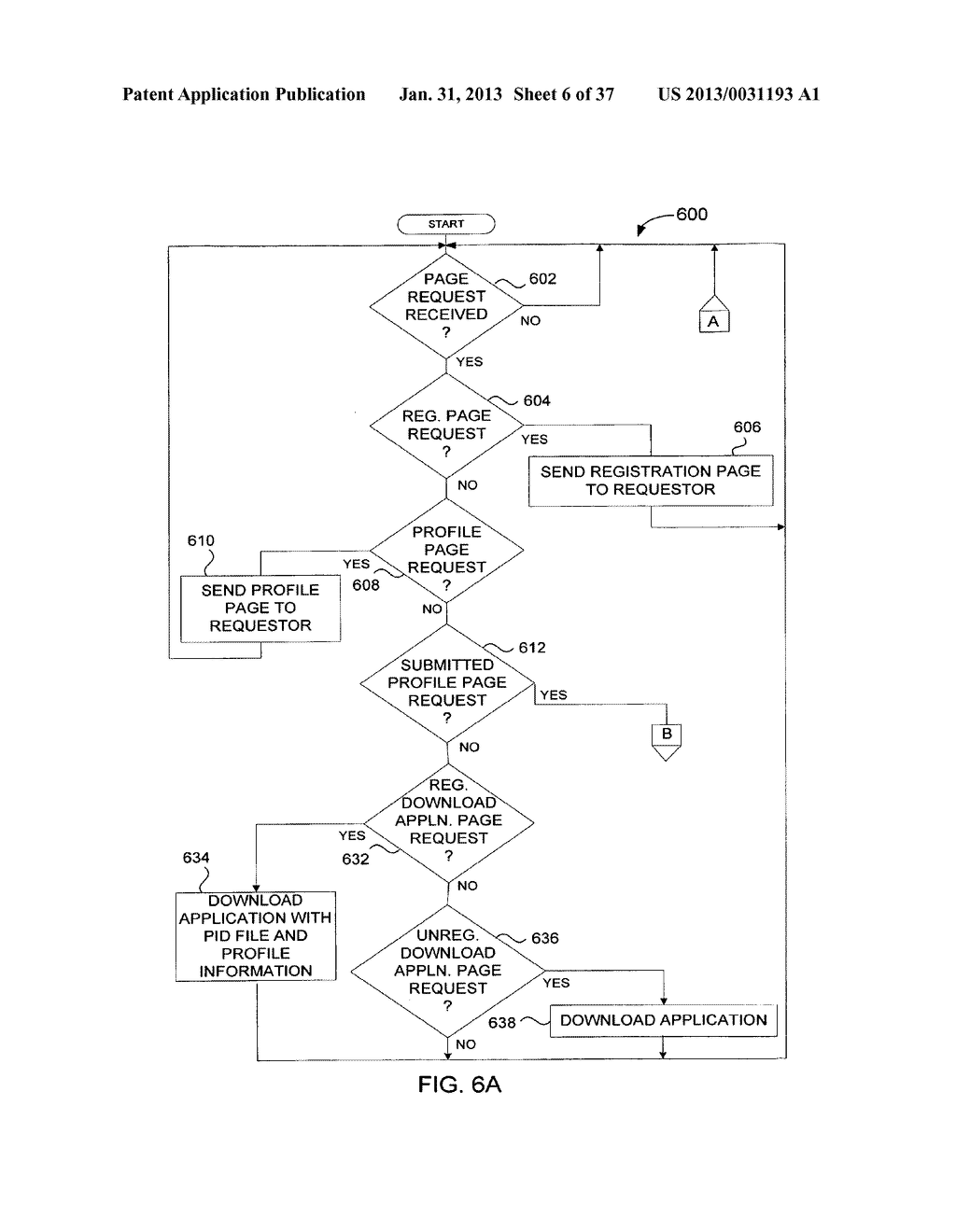 Method and System for Controlled Distribution of Information Over a     Network - diagram, schematic, and image 07