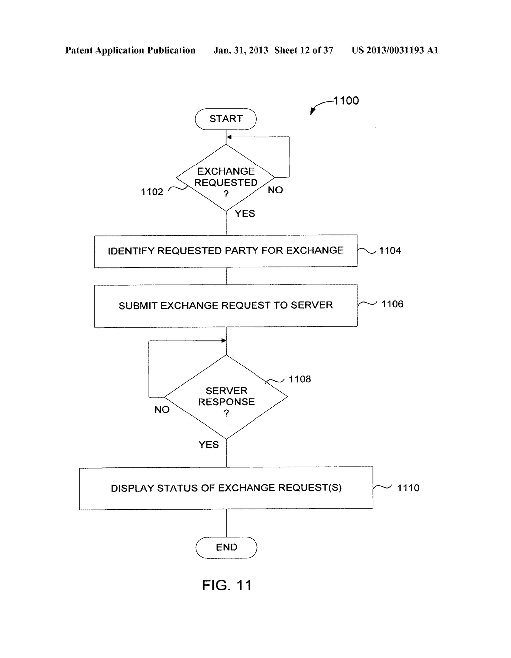 Method and System for Controlled Distribution of Information Over a     Network - diagram, schematic, and image 13