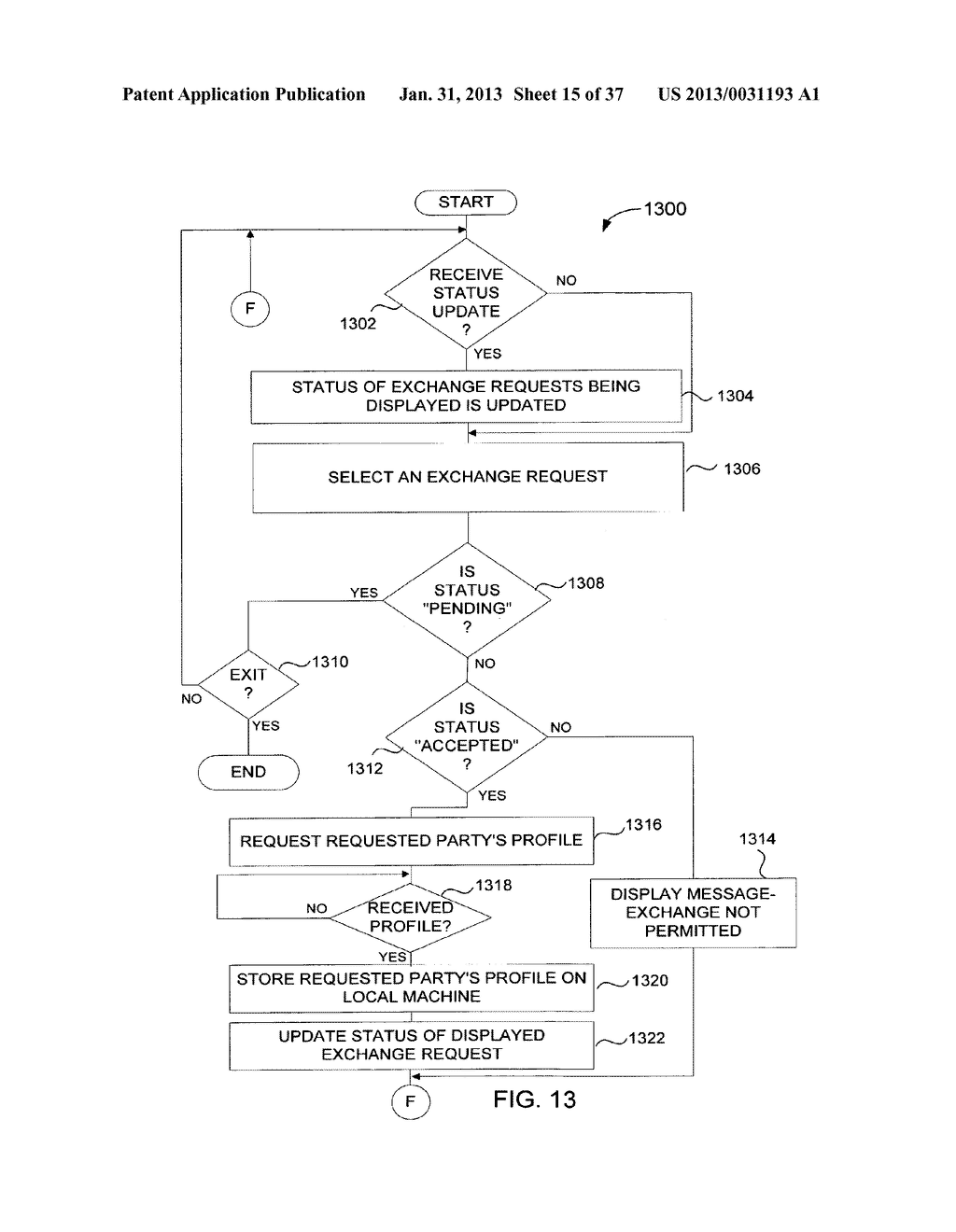 Method and System for Controlled Distribution of Information Over a     Network - diagram, schematic, and image 16