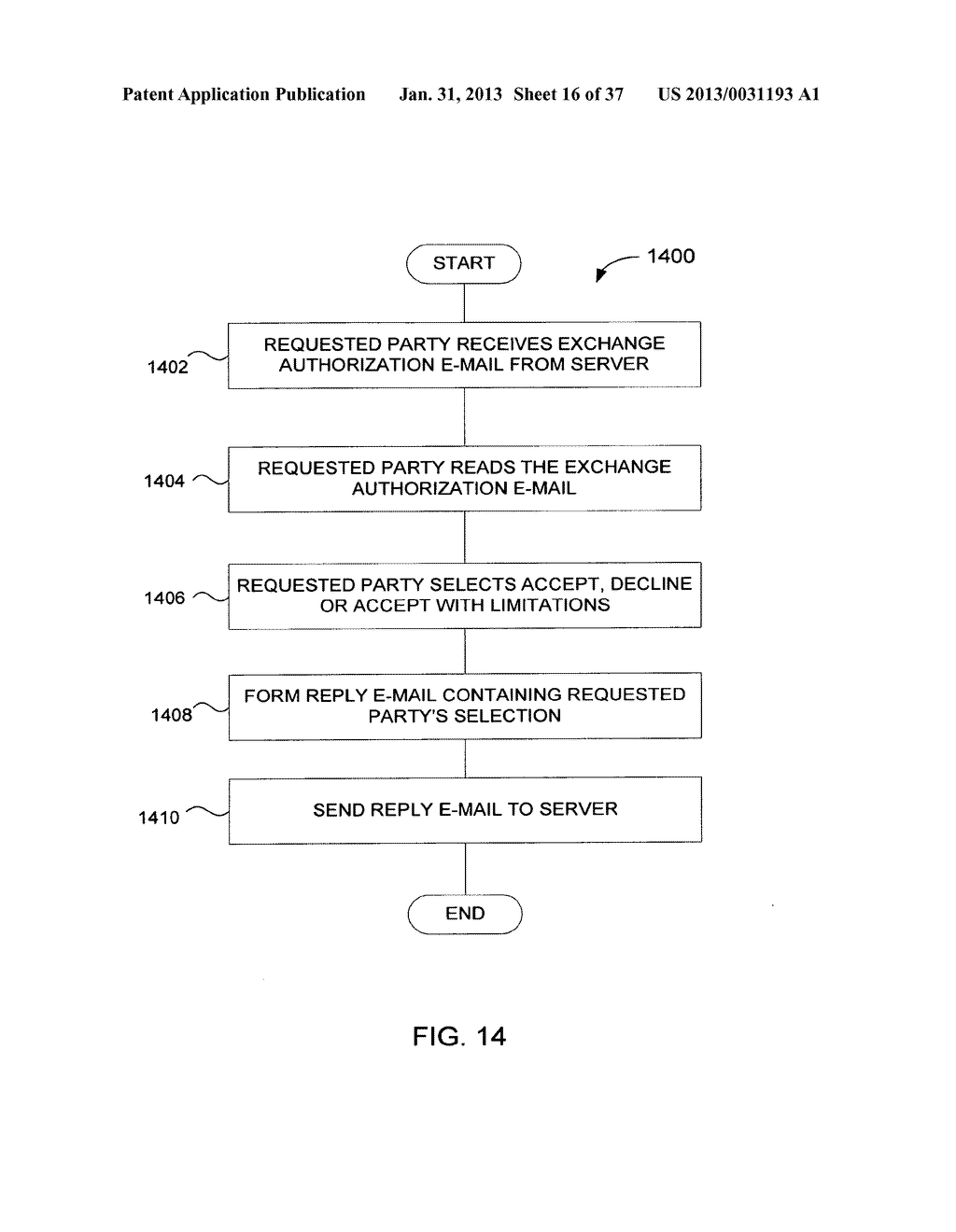 Method and System for Controlled Distribution of Information Over a     Network - diagram, schematic, and image 17