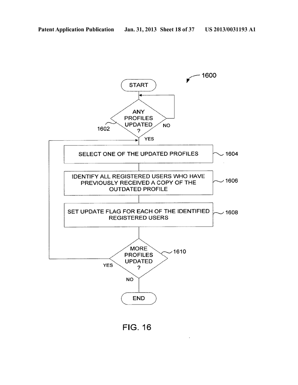 Method and System for Controlled Distribution of Information Over a     Network - diagram, schematic, and image 19