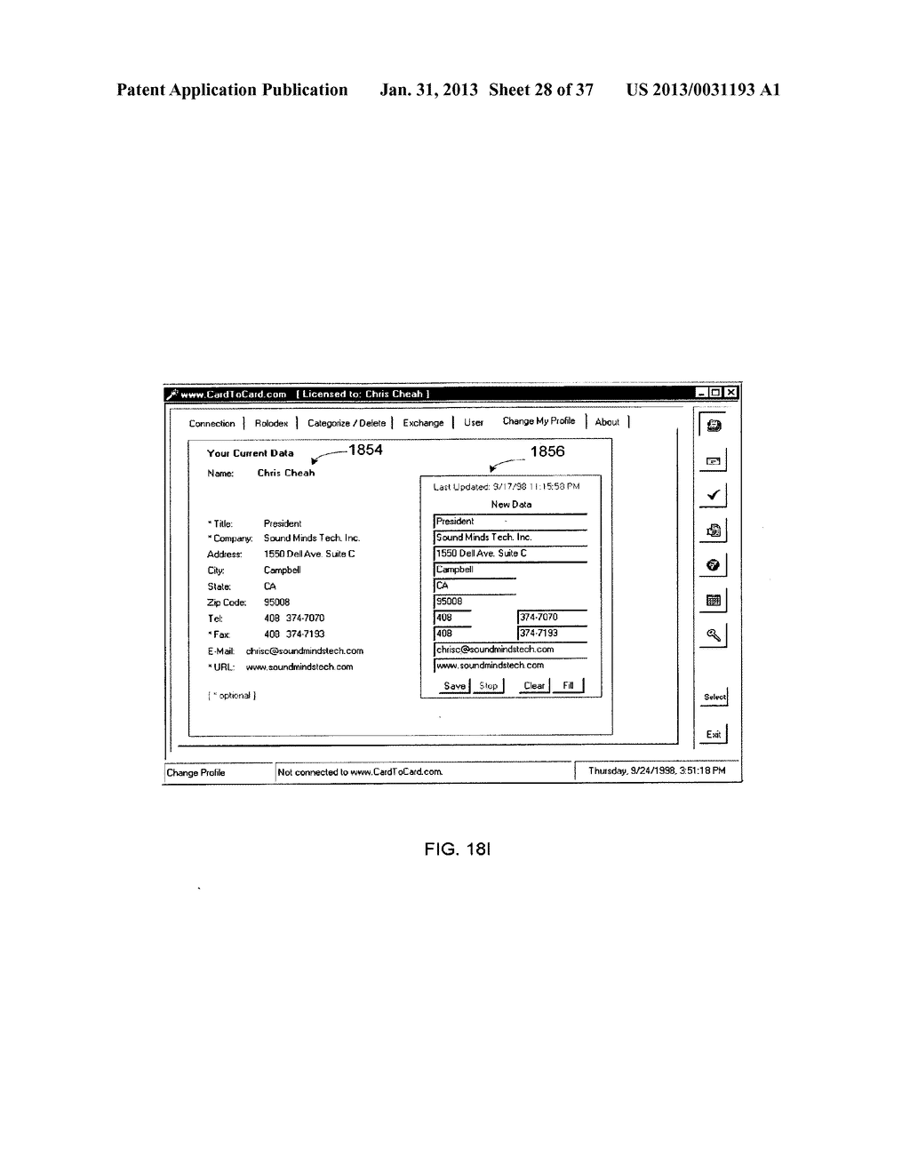Method and System for Controlled Distribution of Information Over a     Network - diagram, schematic, and image 29