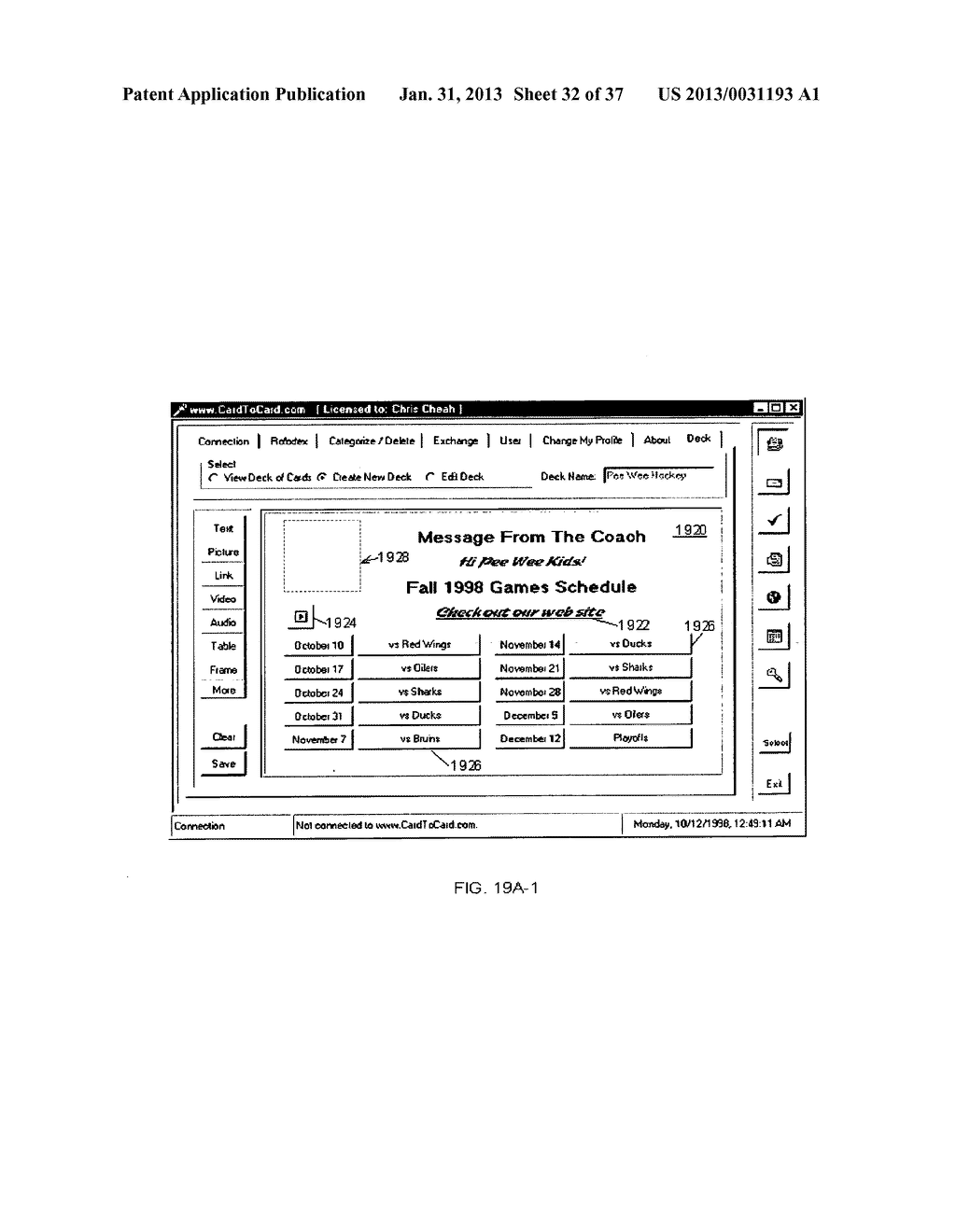 Method and System for Controlled Distribution of Information Over a     Network - diagram, schematic, and image 33