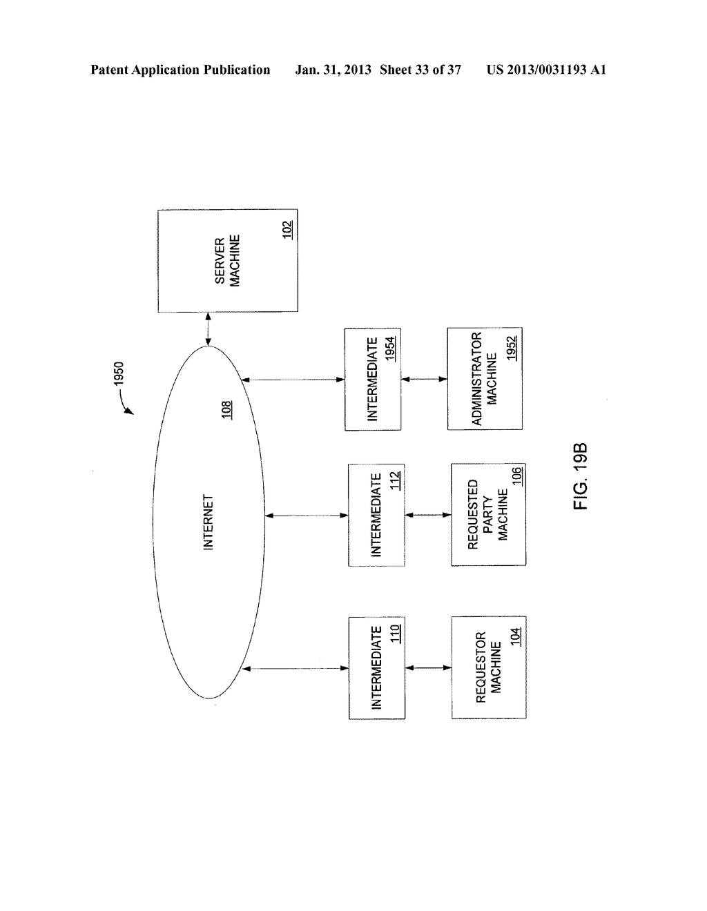 Method and System for Controlled Distribution of Information Over a     Network - diagram, schematic, and image 34
