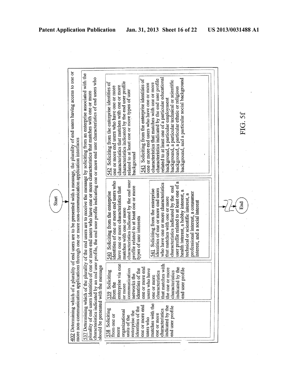 PROVIDING A MODIFIED NON-COMMUNICATION APPLICATION INTERFACE FOR     PRESENTING A MESSAGE - diagram, schematic, and image 17