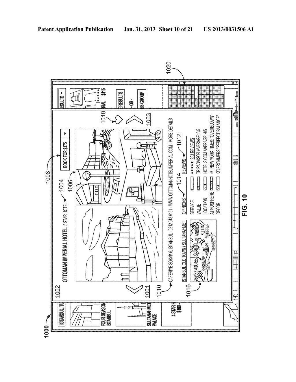 HOTEL RESULTS INTERFACE - diagram, schematic, and image 11
