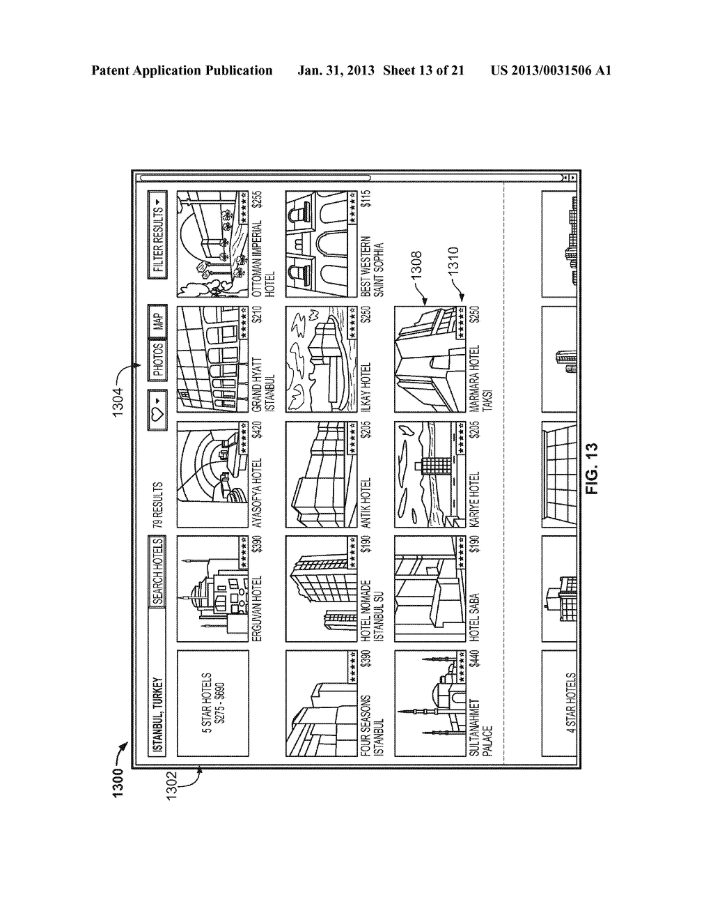 HOTEL RESULTS INTERFACE - diagram, schematic, and image 14