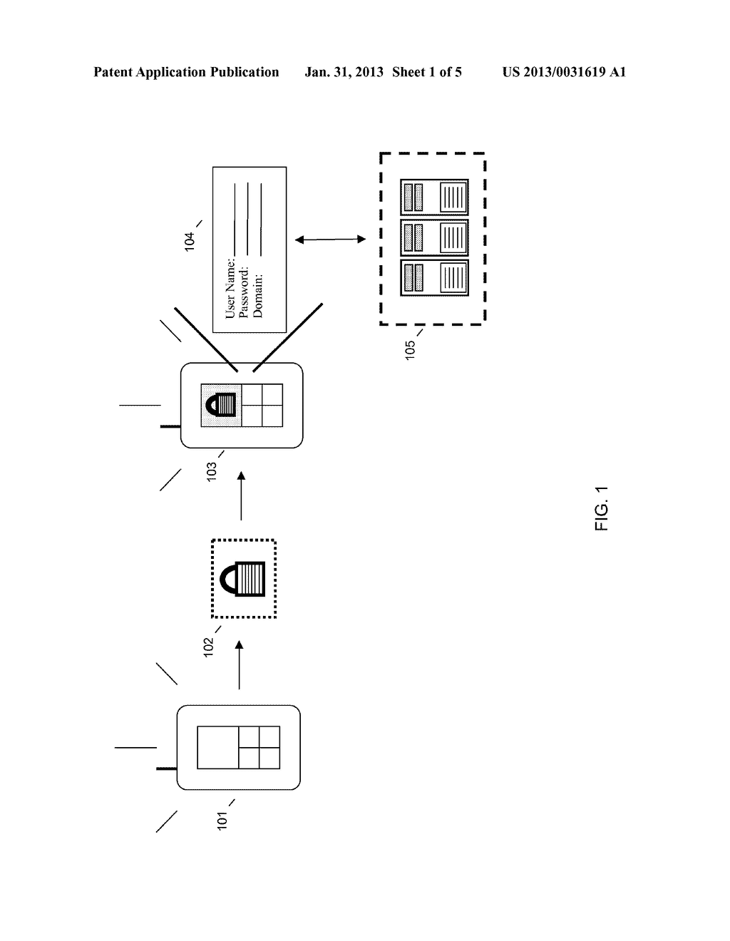 REMOTE AUTHENTICATION SCREEN LOCKER FOR A MOBILE DEVICE - diagram, schematic, and image 02